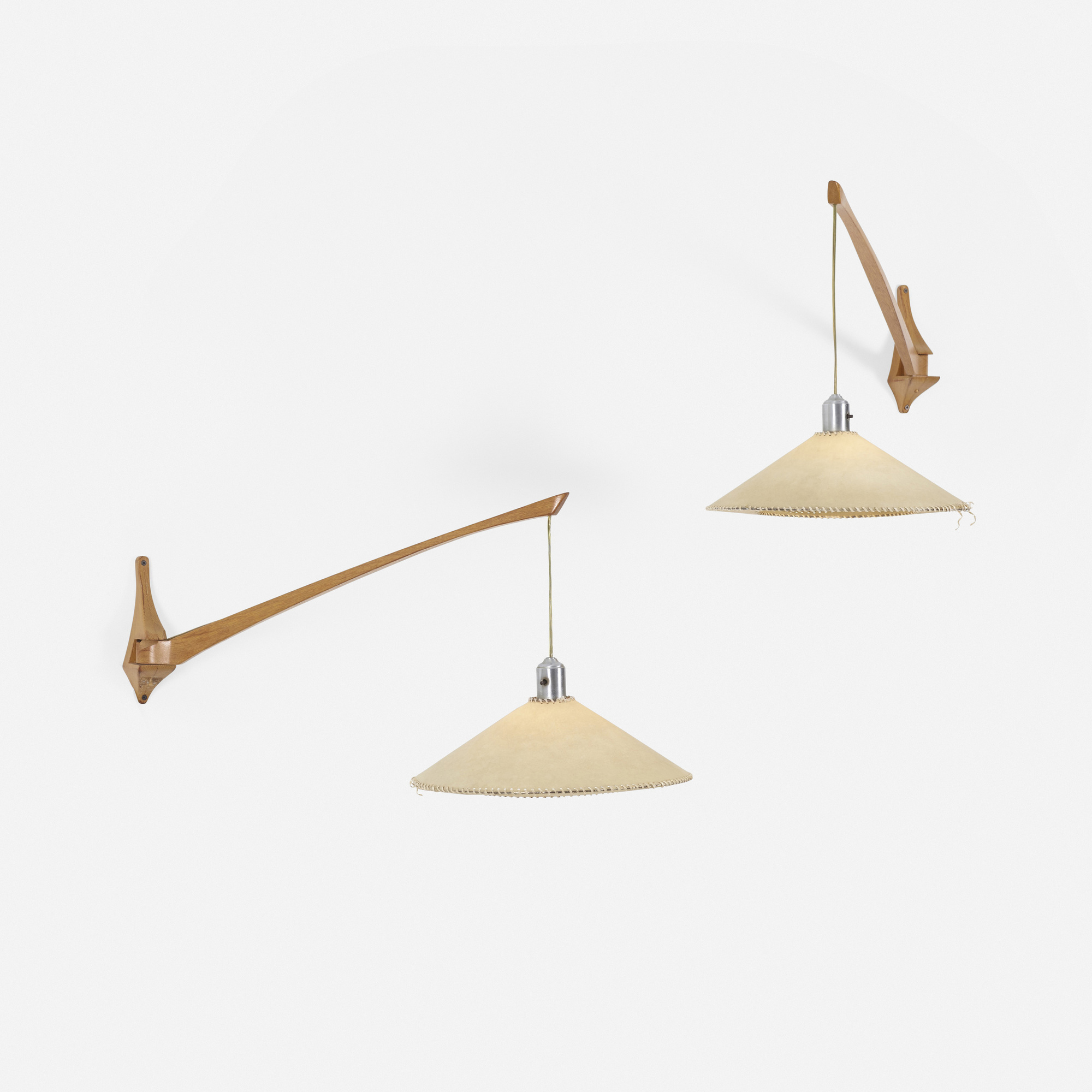 230: Danish / wall-mounted lamps, pair (2 of 2)