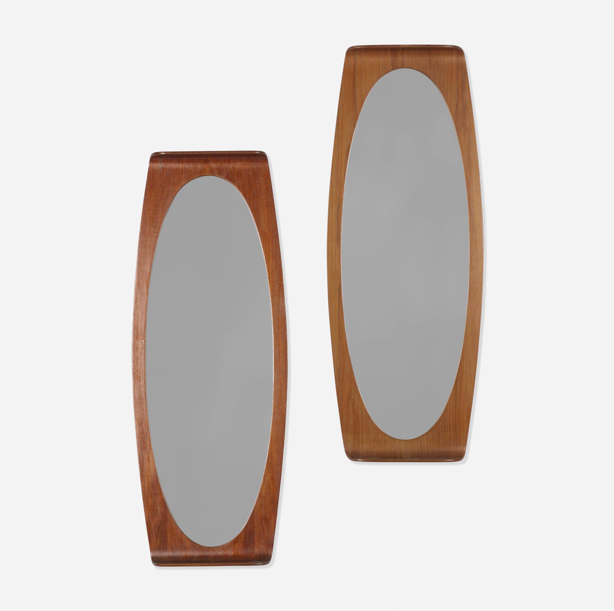 231: Franco Campo and Carlo Graffi / wall mirrors, pair (1 of 2)