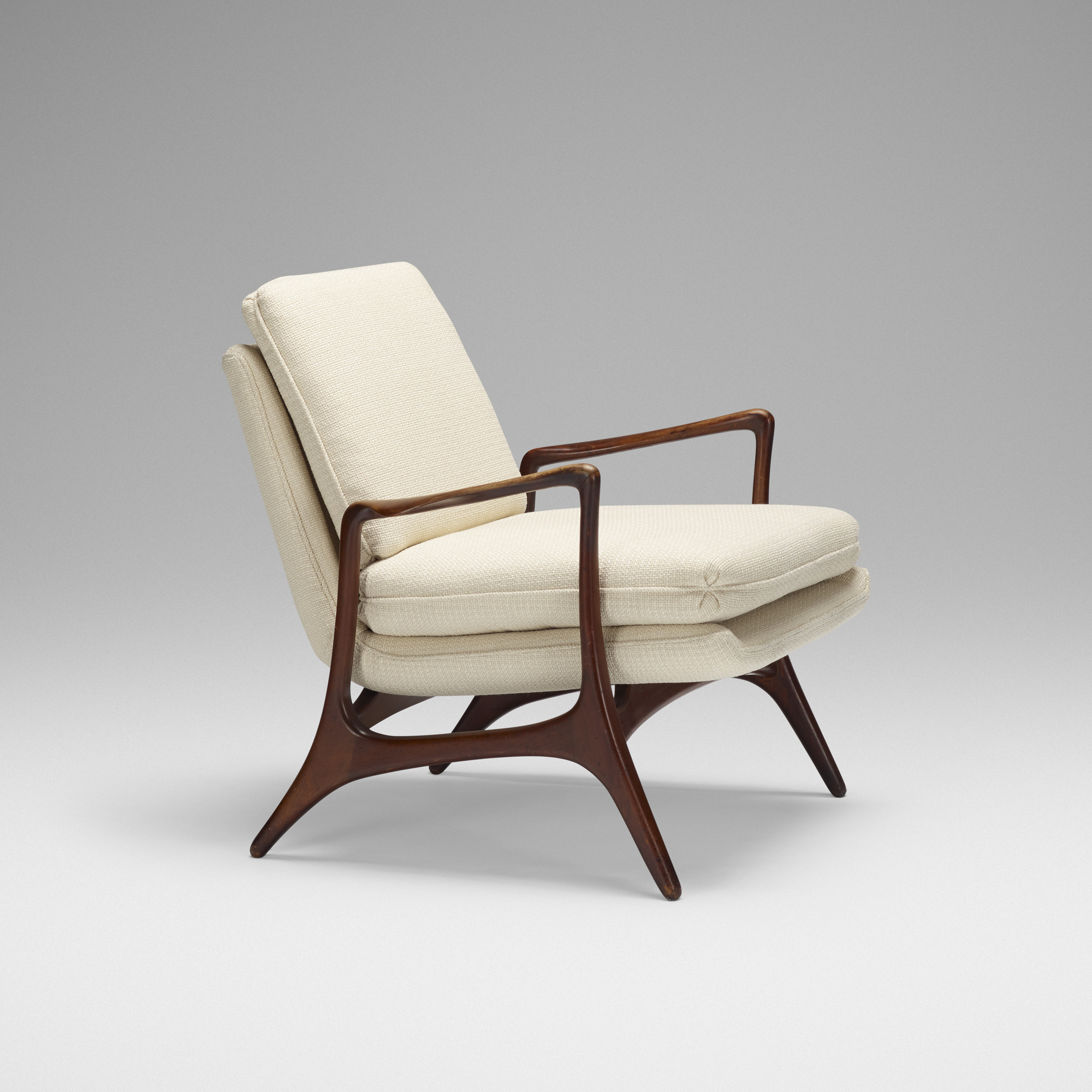 231: Vladimir Kagan / Lounge Chair (1 Of 3)