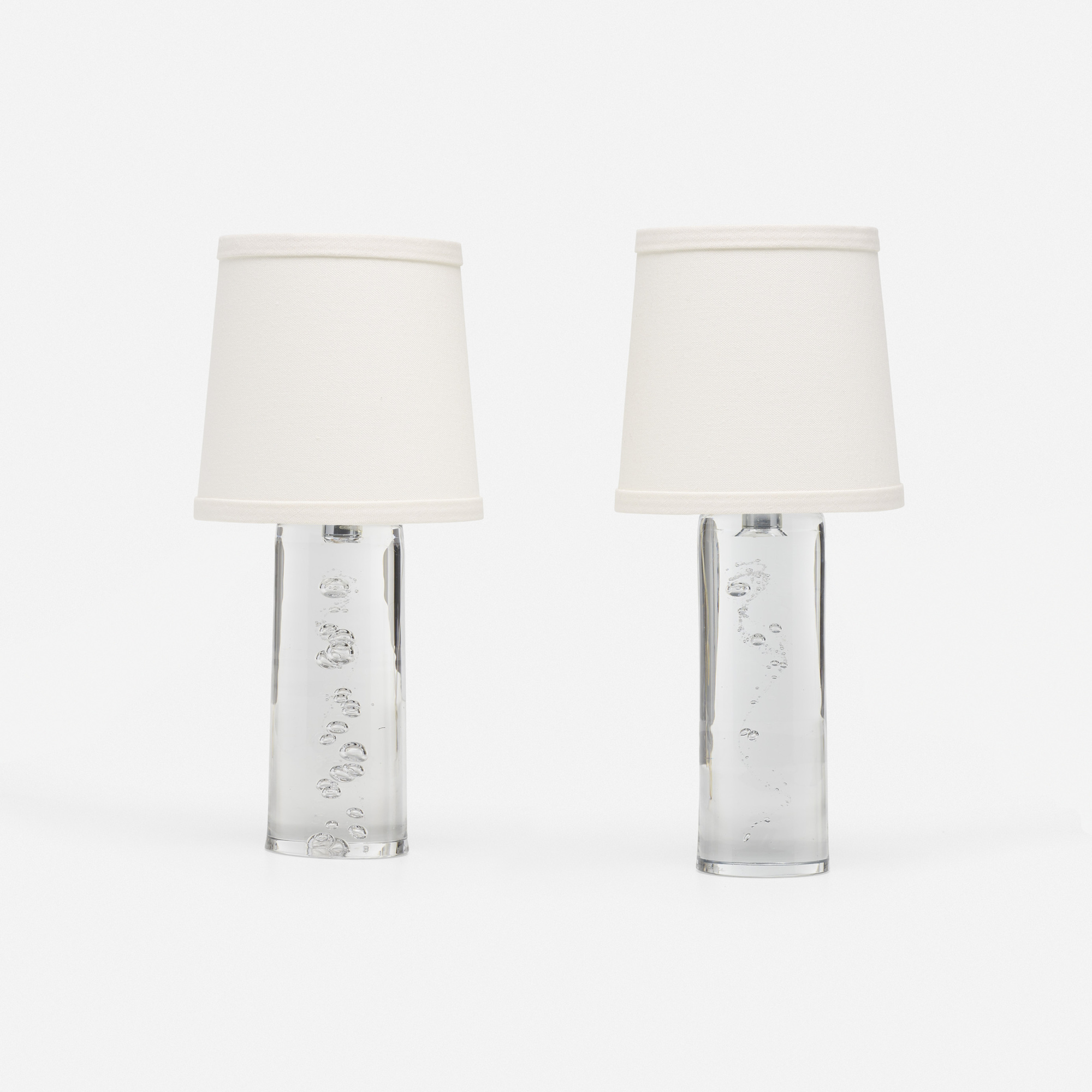 231: Daum / table lamps, set of two (1 of 2)