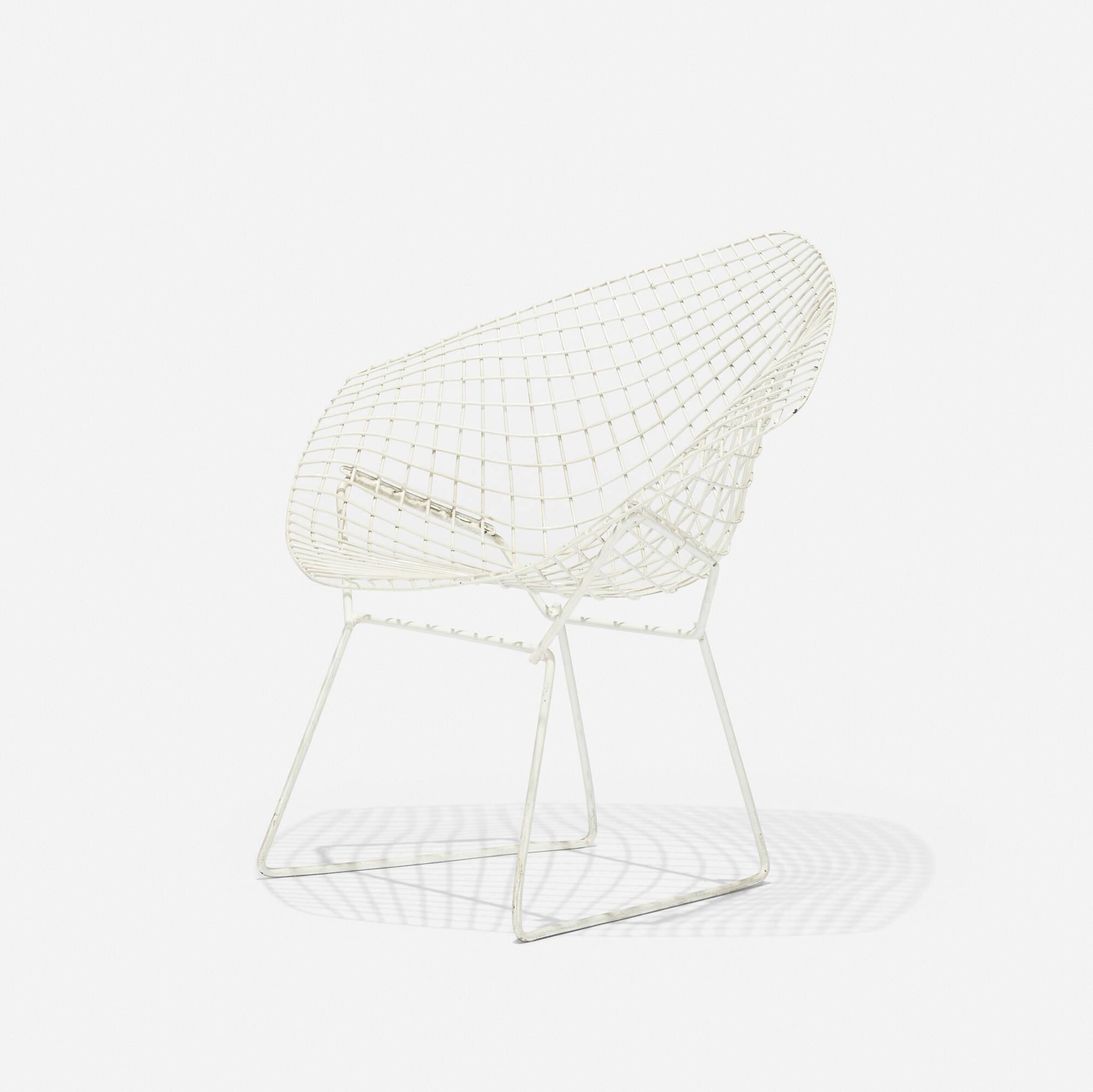 231: Harry Bertoia / Small Diamond chair (2 of 3)