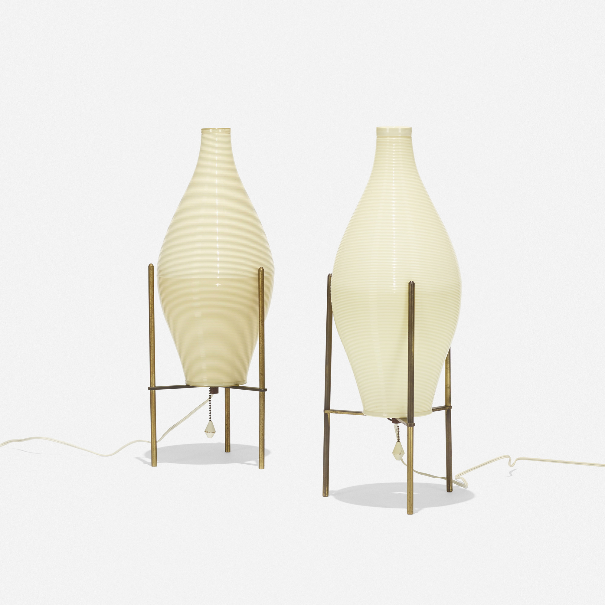 232: Yasha Heifetz / Rotaflex table lamps, pair (2 of 2)