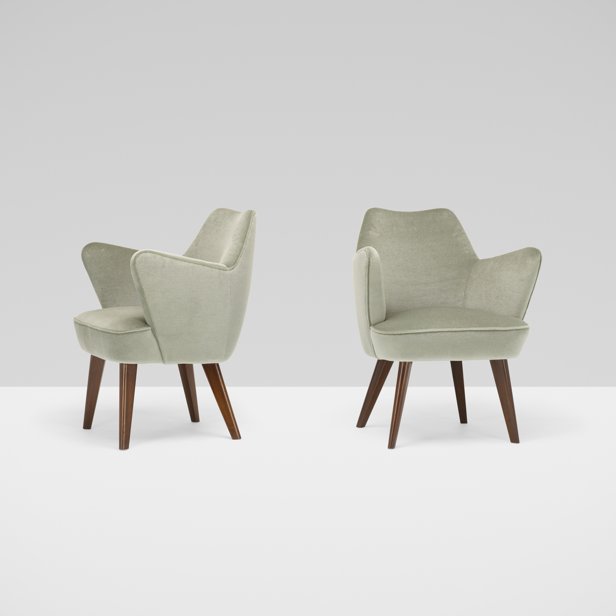 233: Gio Ponti / pair of armchairs from the Augustus Ocean Liner (2 of 3)
