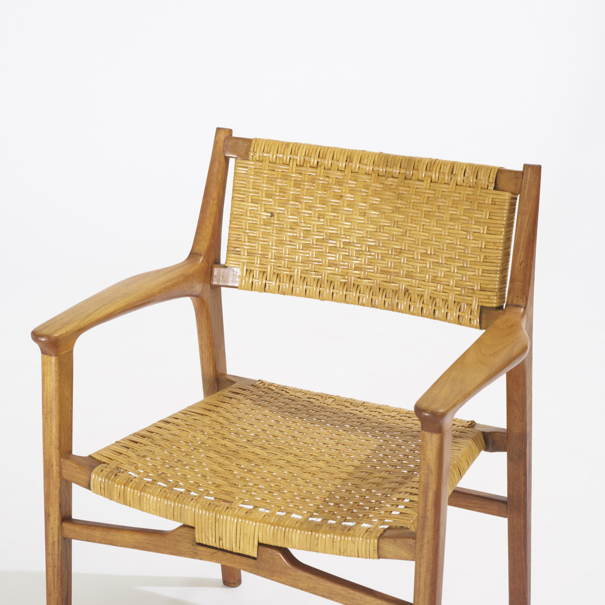 233: Hans J. Wegner / rare lounge chairs, pair (3 of 3)
