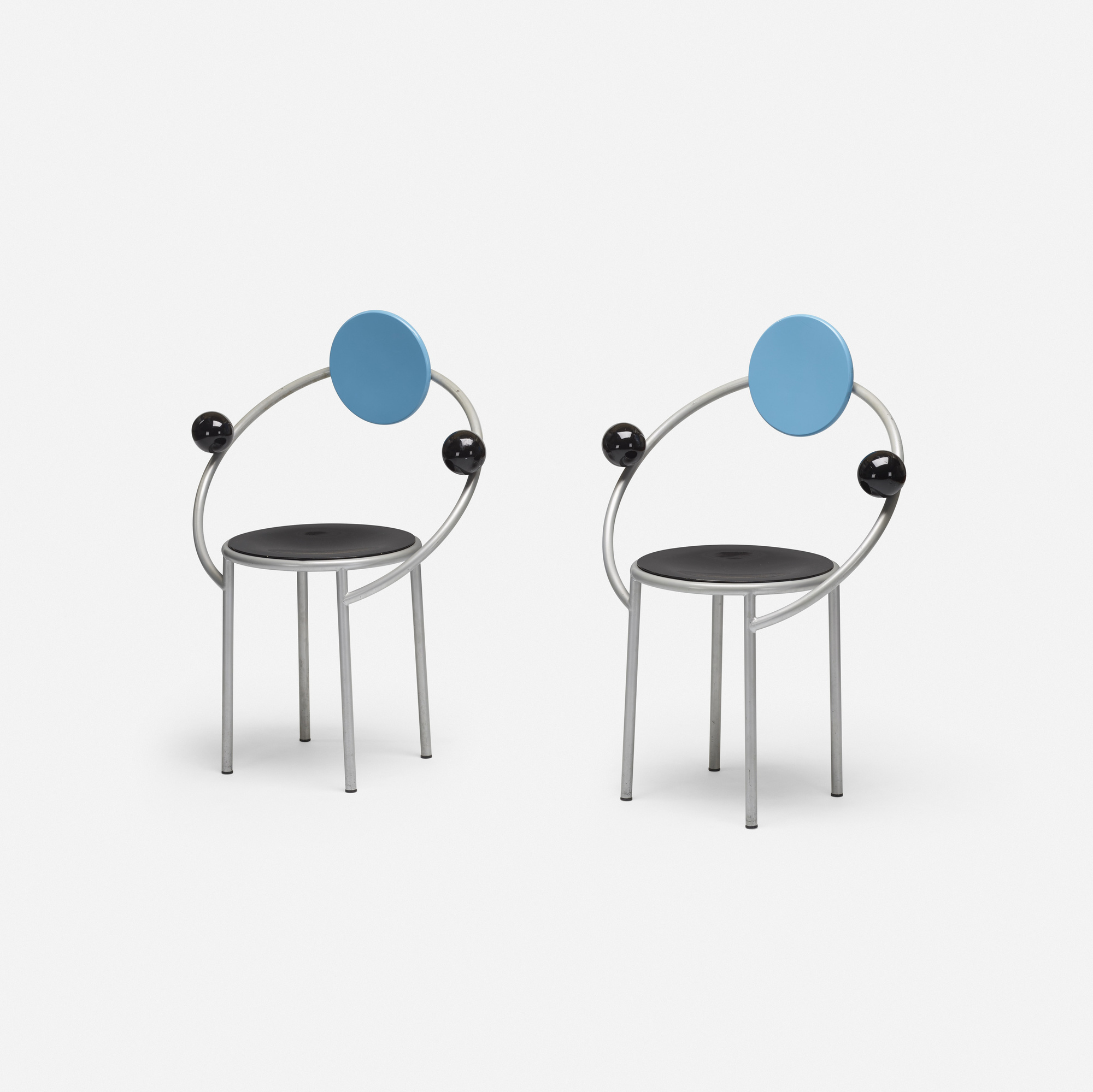 234: Michele De Lucchi / First chairs, pair (1 of 3)