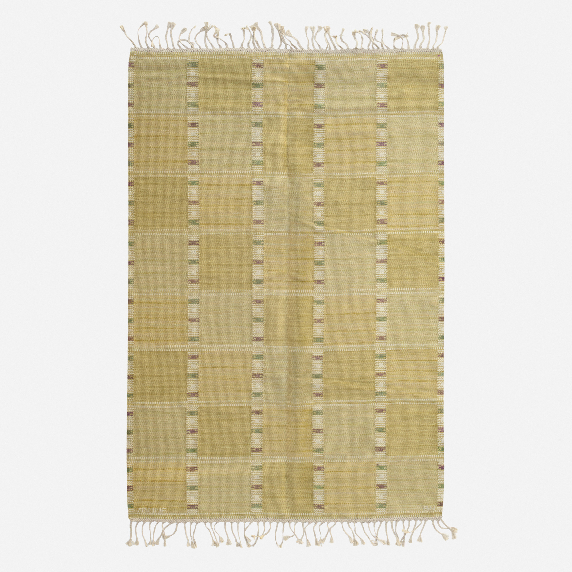 234: Barbro Nilsson / Falurutan flatweave carpet (1 of 2)