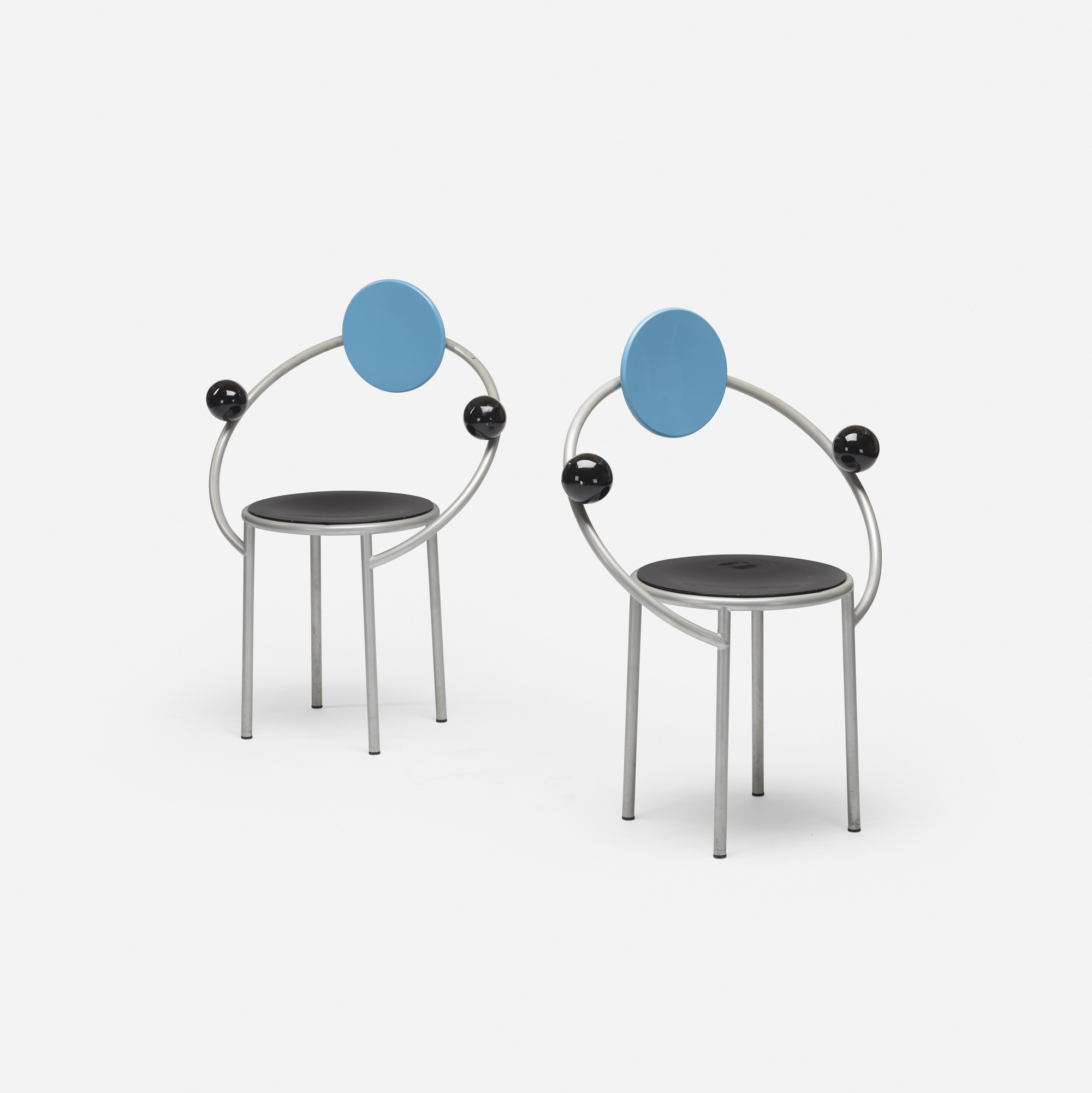 234: Michele De Lucchi / First chairs, pair (2 of 3)