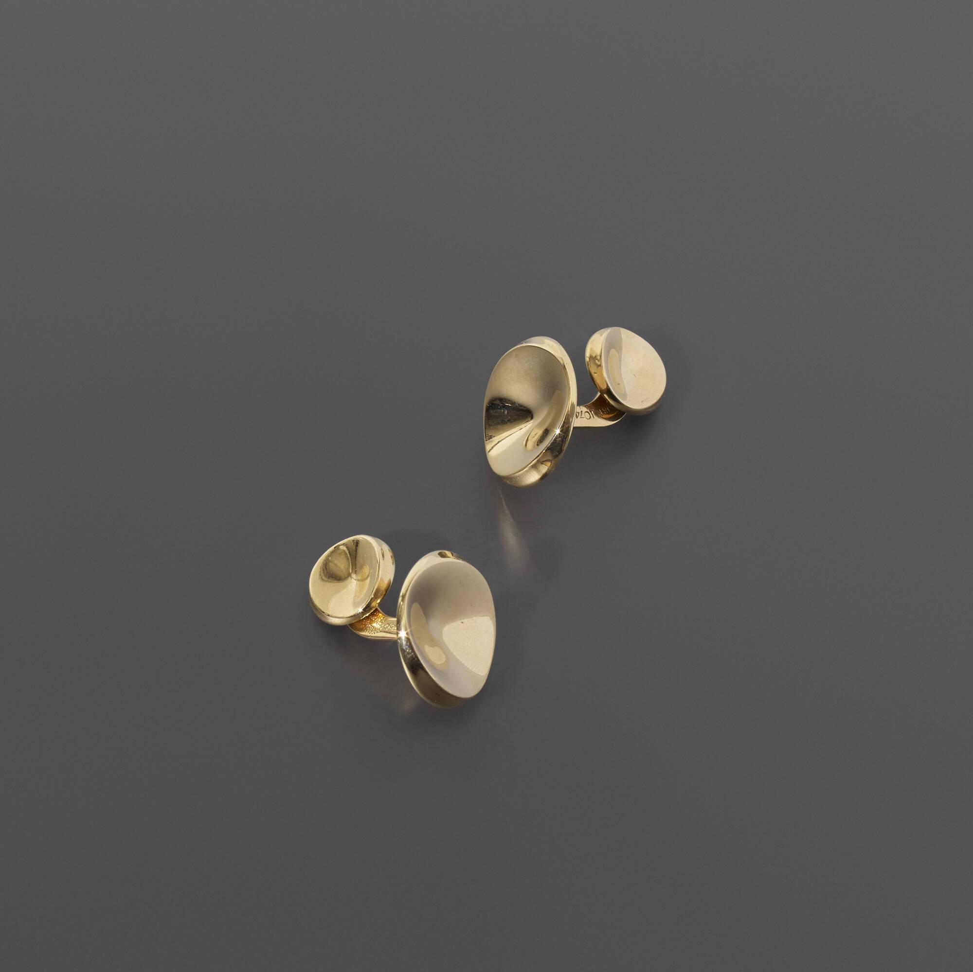 235: Nanna Ditzel / cufflinks, pair (1 of 1)