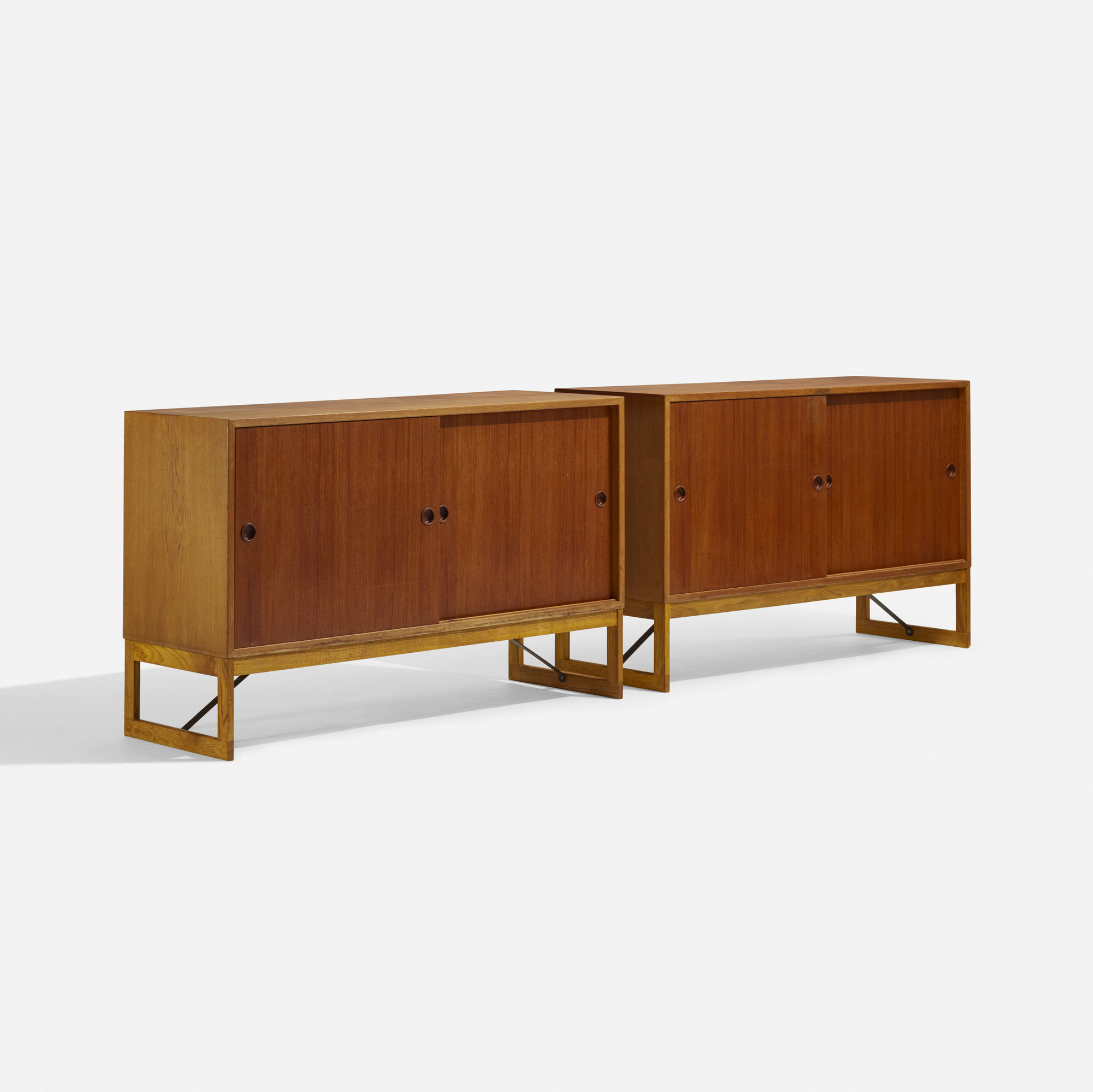 235 b rge mogensen cabinets pair for Auctions kitchen cabinets