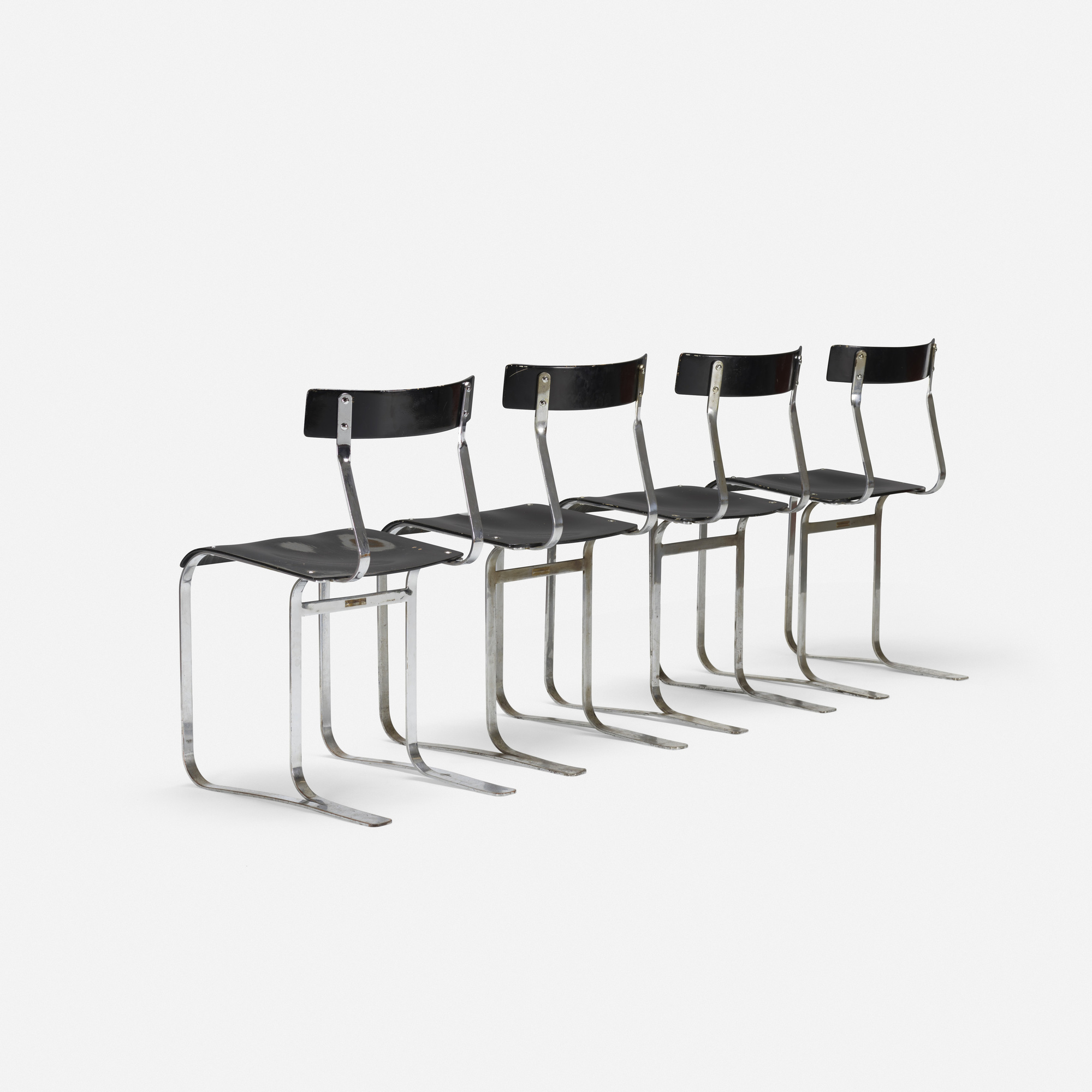 ... 235 Marcel Breuer / chairs model WB301 set of four (2 of 3 & 235: MARCEL BREUER chairs model WB301 set of four u003c Design 22 ...