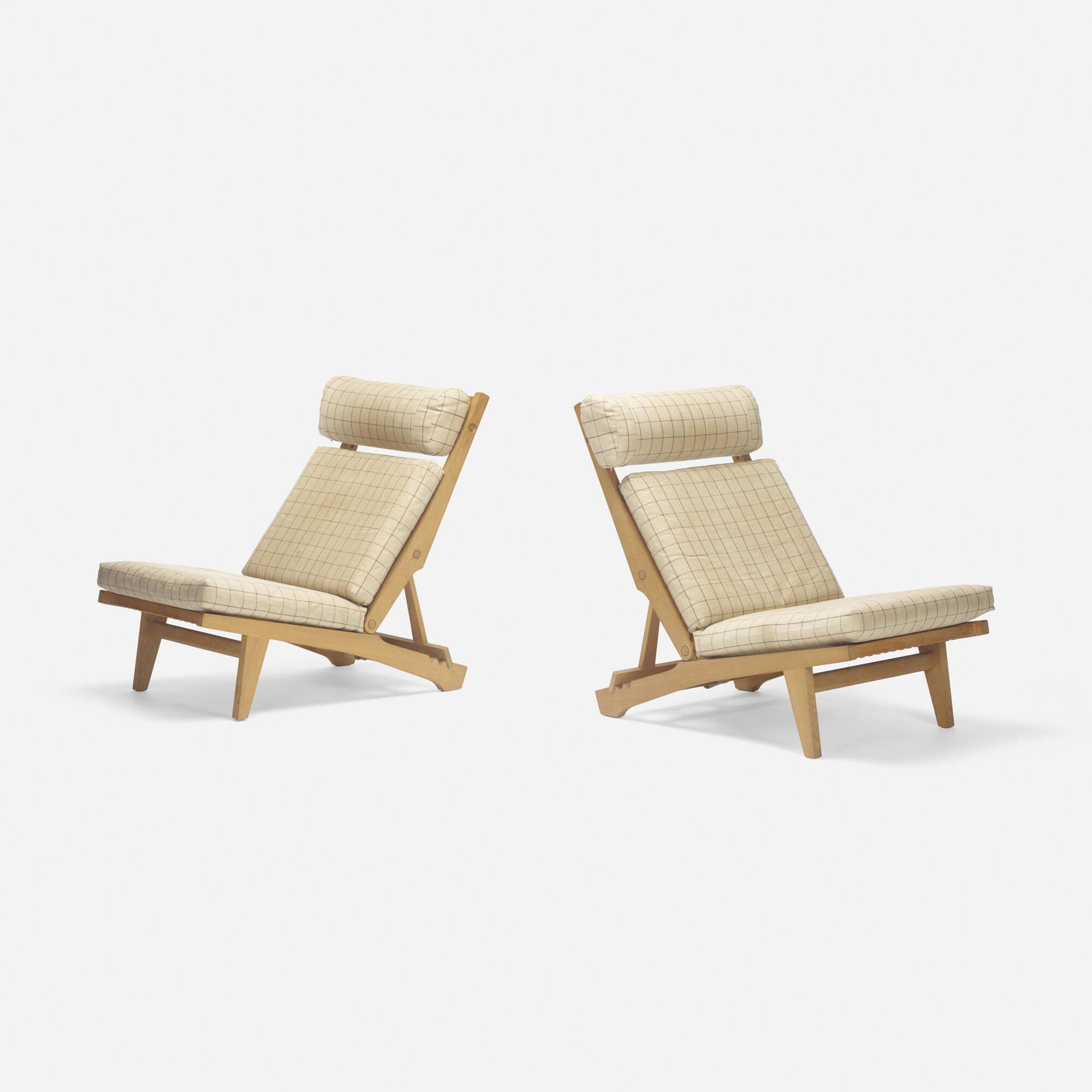 ... 235: Hans J. Wegner / Lounge Chairs Model AP 71, Pair (