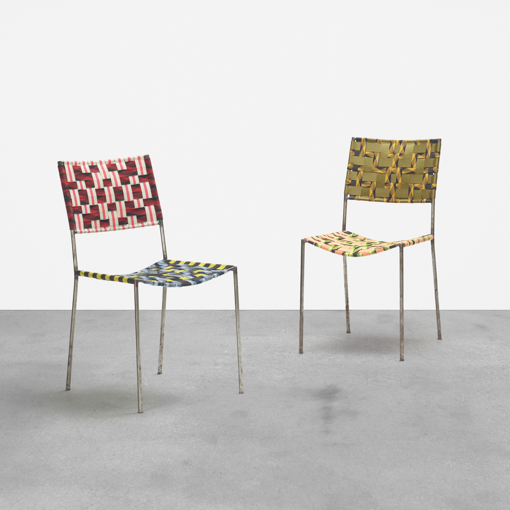 236: Franz West / Onkel chairs, pair (1 of 3)