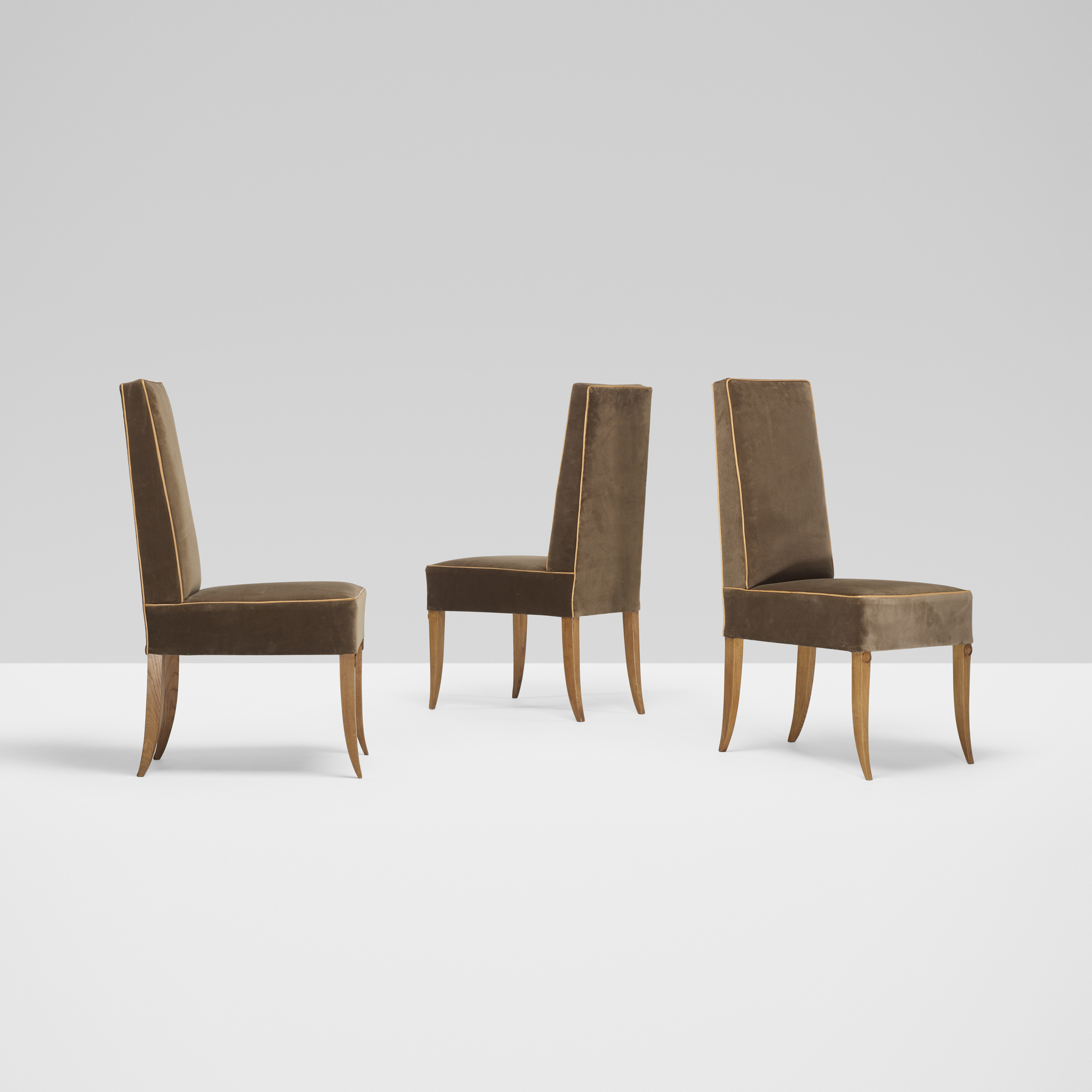 Delicieux 236: André Arbus / Dining Chairs, Set Of Six (2 Of 4) ...