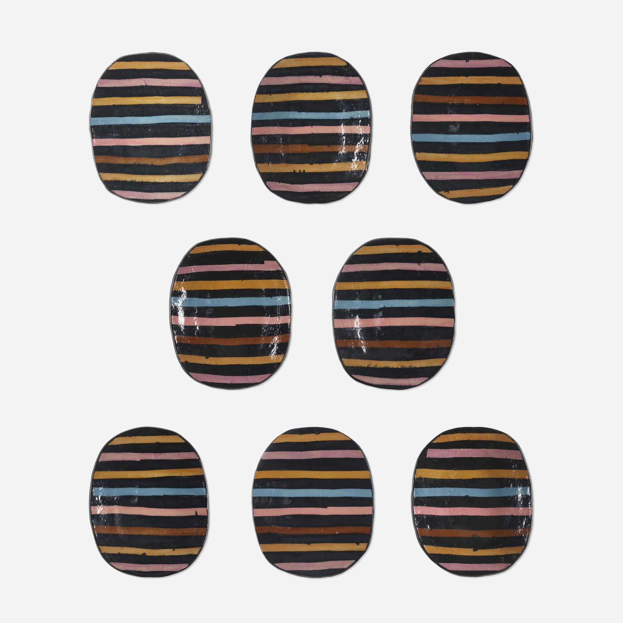 237: Jun Kaneko / Untitled (eight works) (1 of 3)