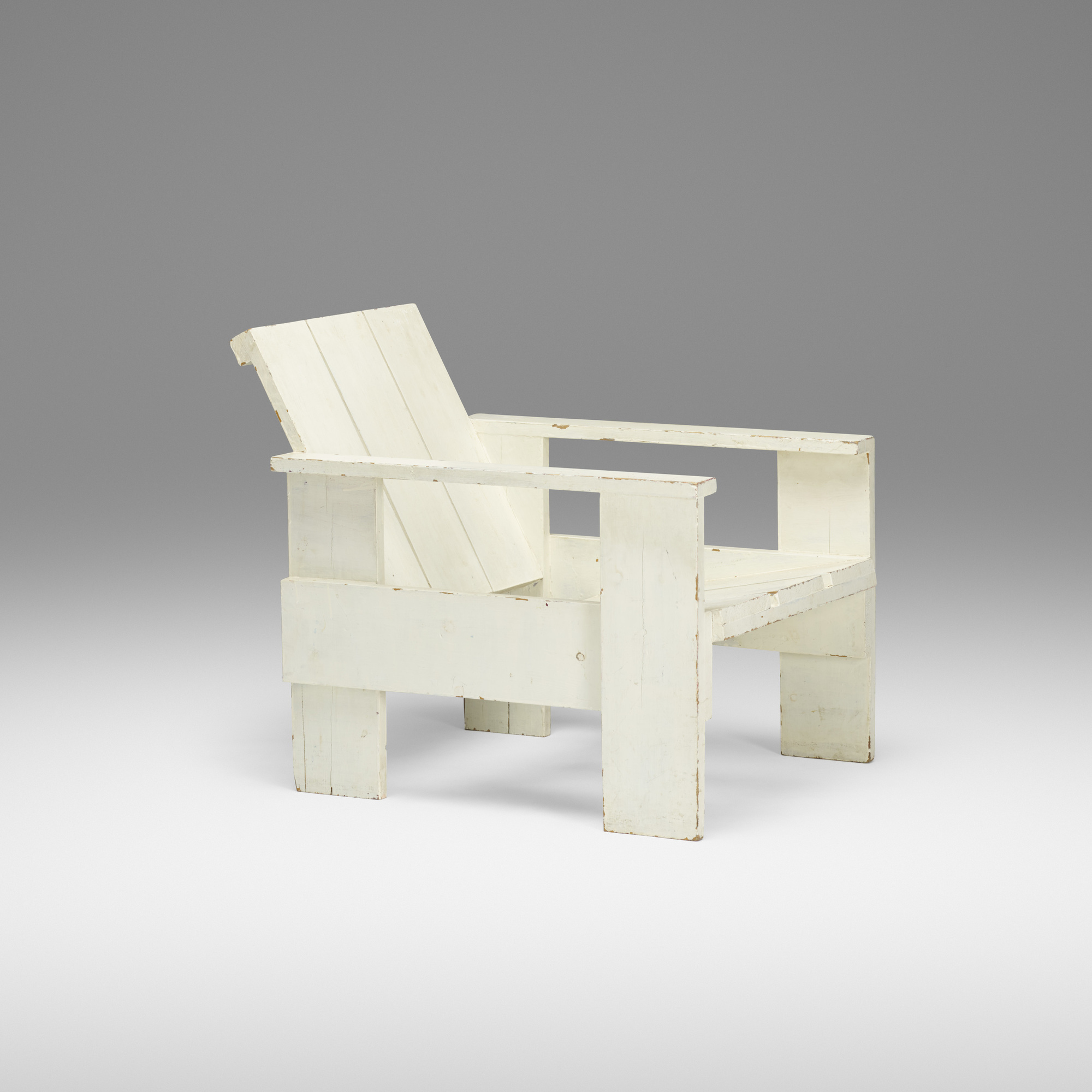 237: Gerrit Rietveld / Early Crate Chair (1 Of 3)