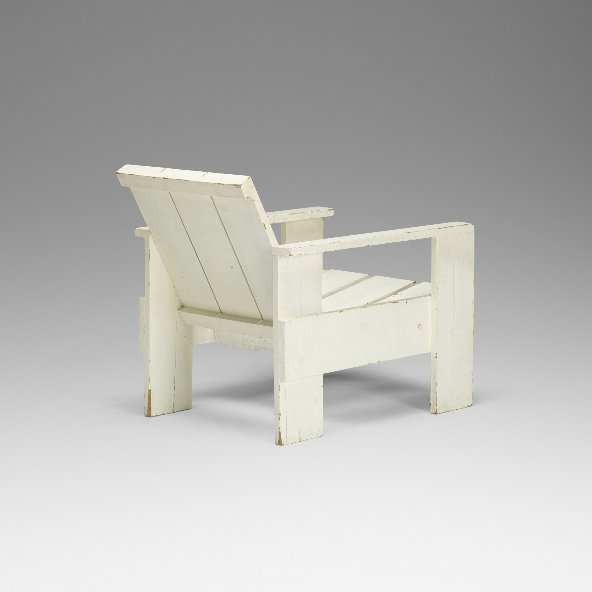 ... 237: Gerrit Rietveld / Early Crate Chair (2 Of 3)