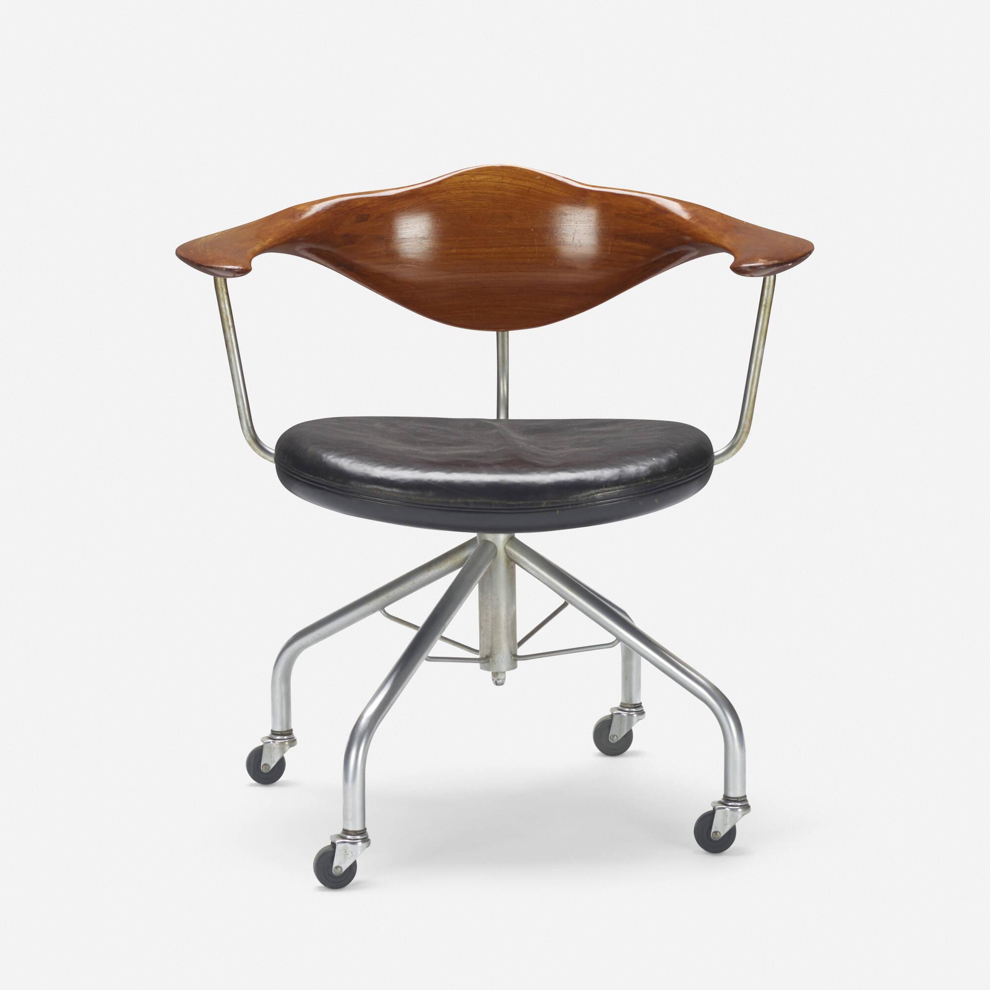 238 Hans J Wegner Swivel fice chair Design 23 March 2017