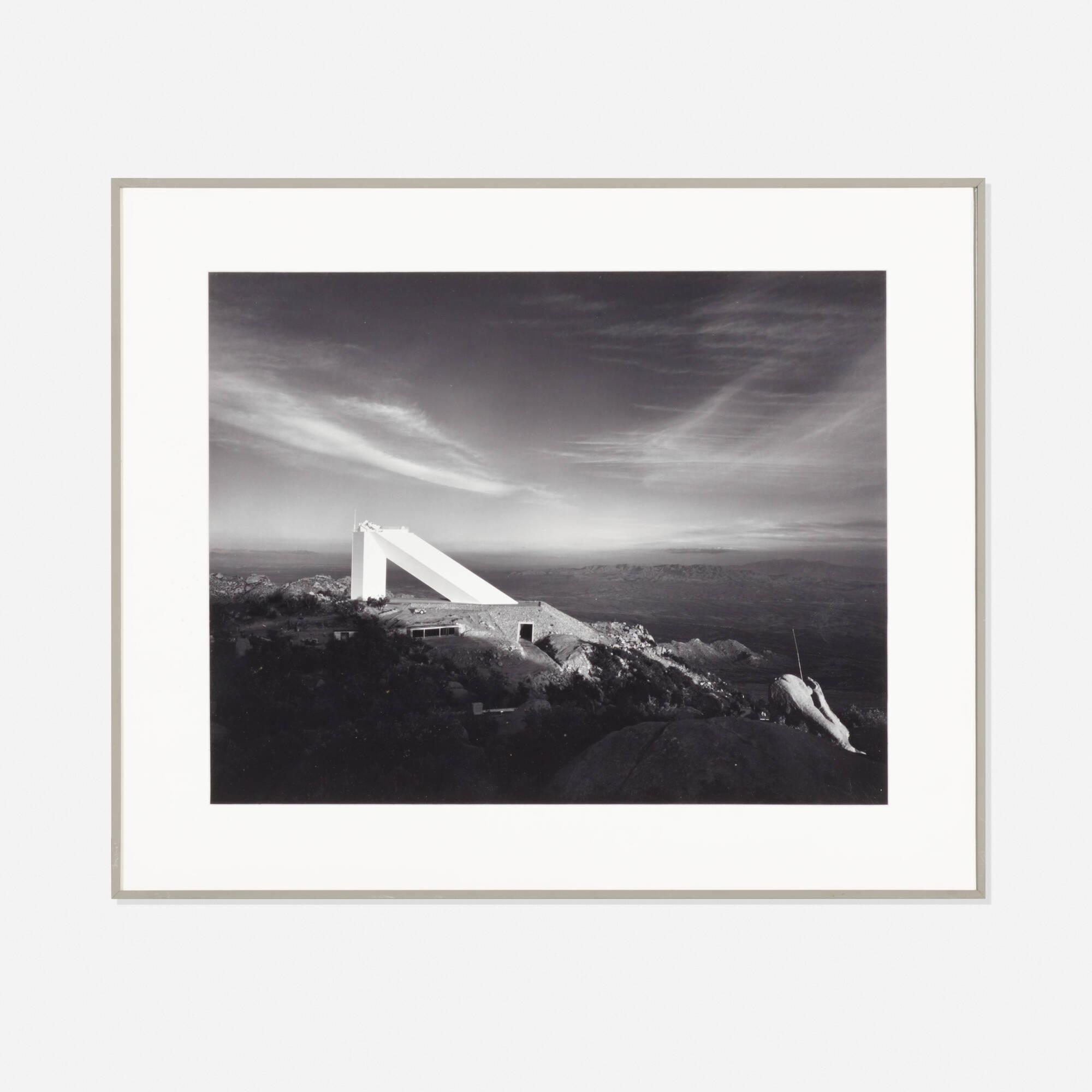 """238: Ezra Stoller / 60"""" Solar Telescope, Kitt Peak, Ariz. Architect: SOM (1 of 1)"""
