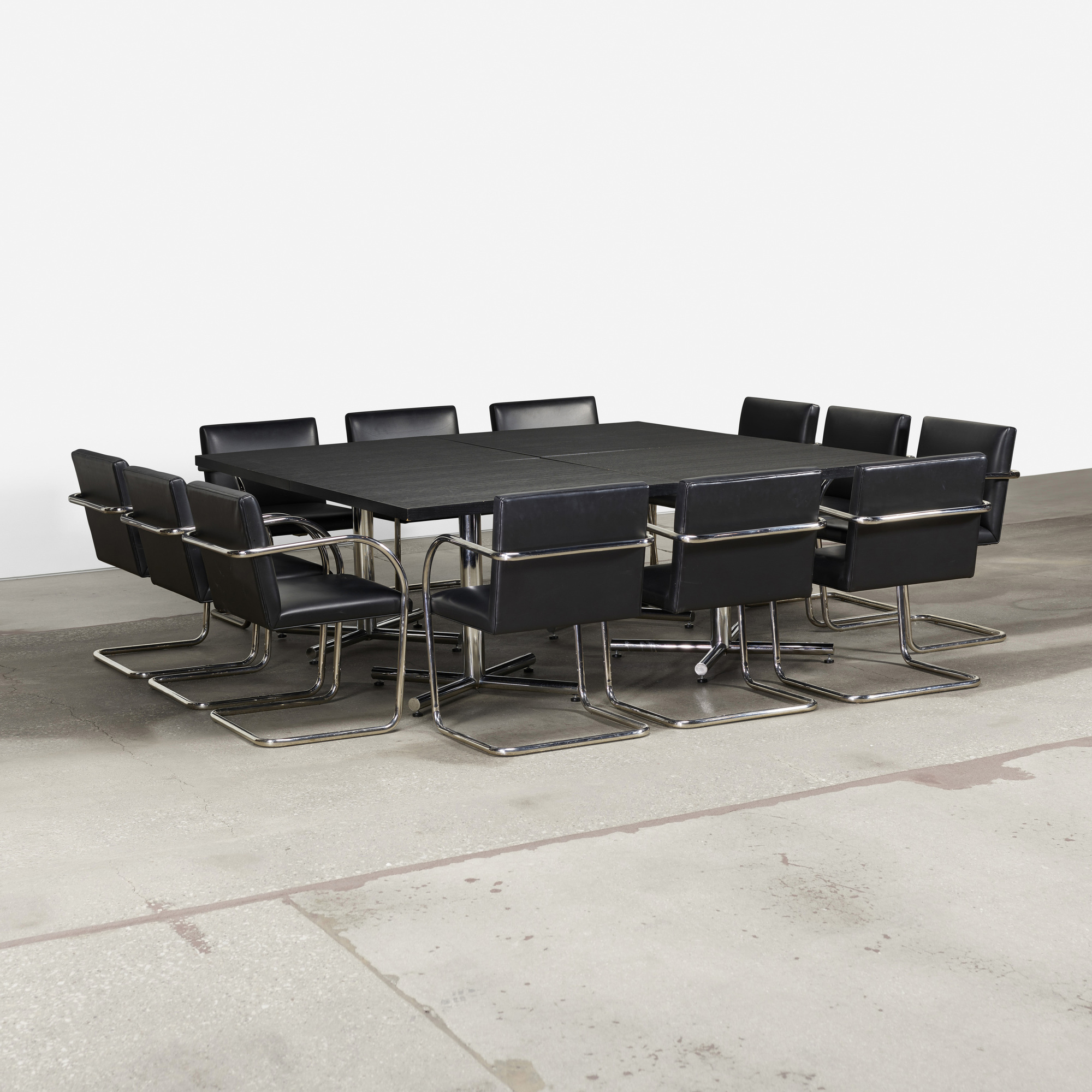 238: Ludwig Mies van der Rohe / set of twelve Brno chairs from The Arts Club of Chicago (3 of 4)