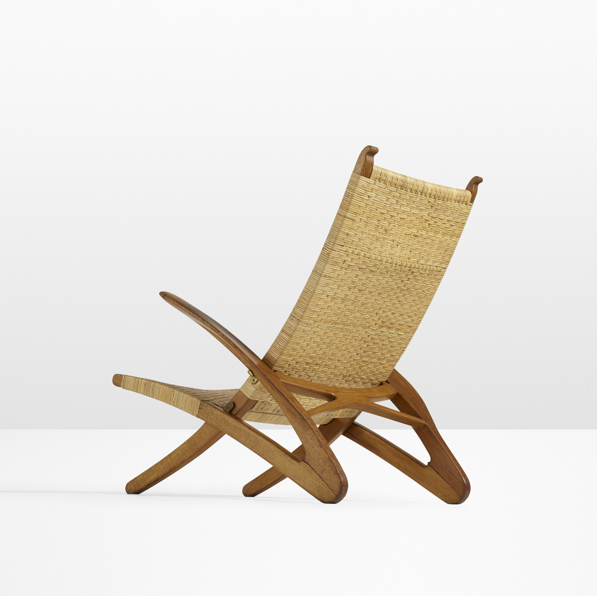 23: Hans J. Wegner / Rare Dolphin lounge chair (1 of 5)