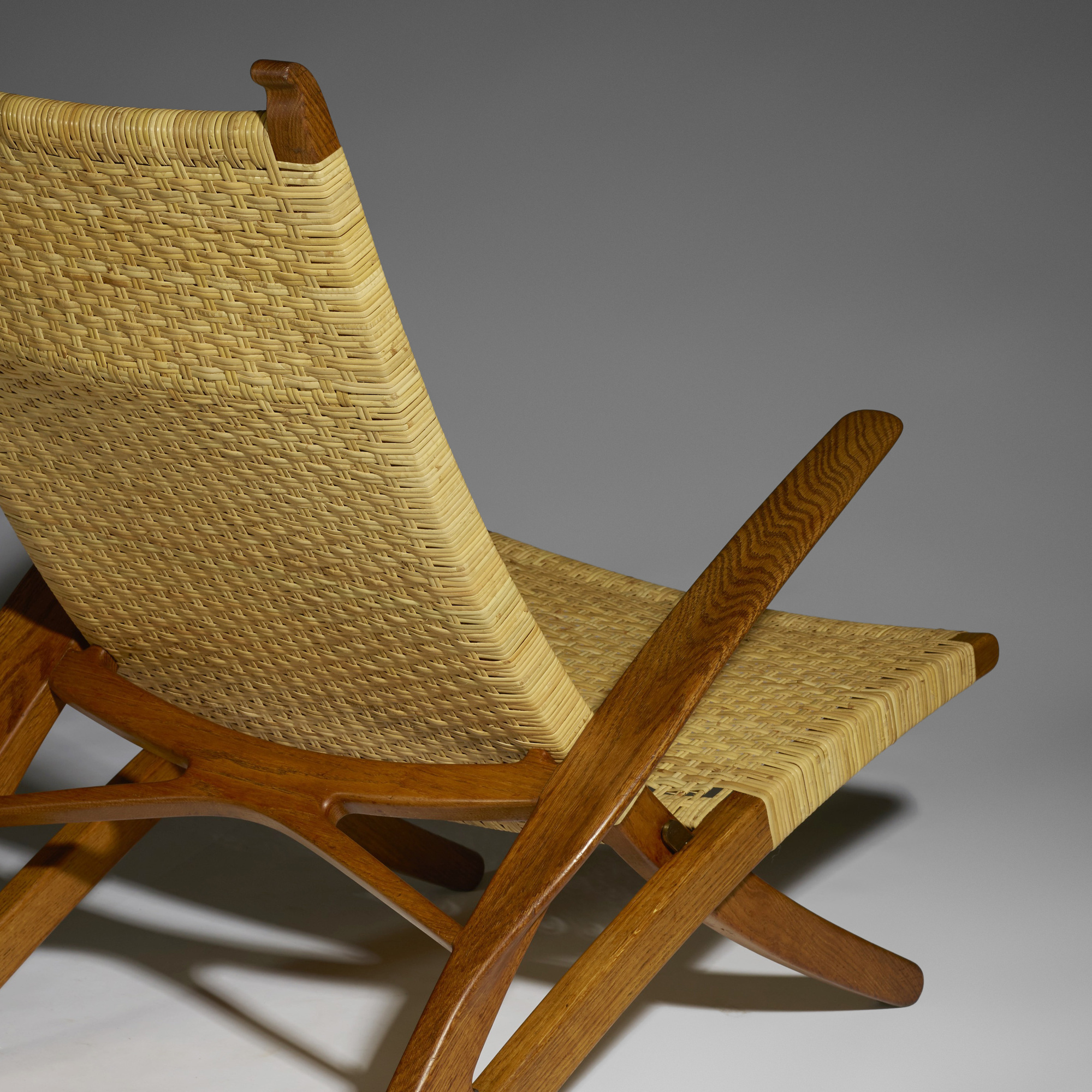 23: Hans J. Wegner / Rare Dolphin lounge chair (4 of 5)