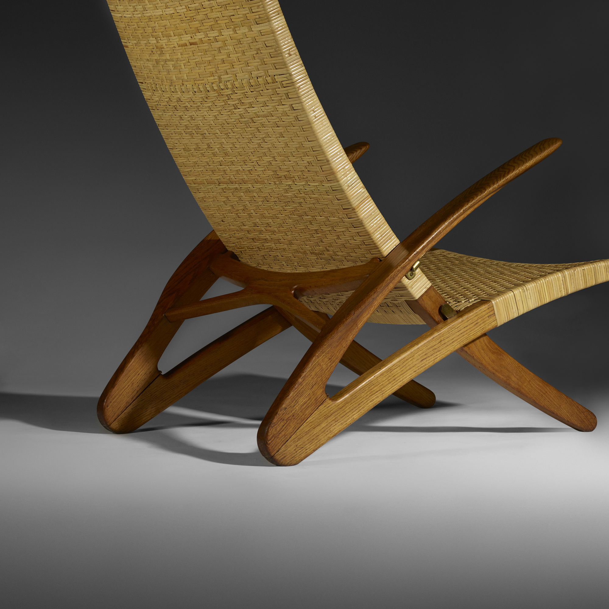 23: Hans J. Wegner / Rare Dolphin lounge chair (5 of 5)