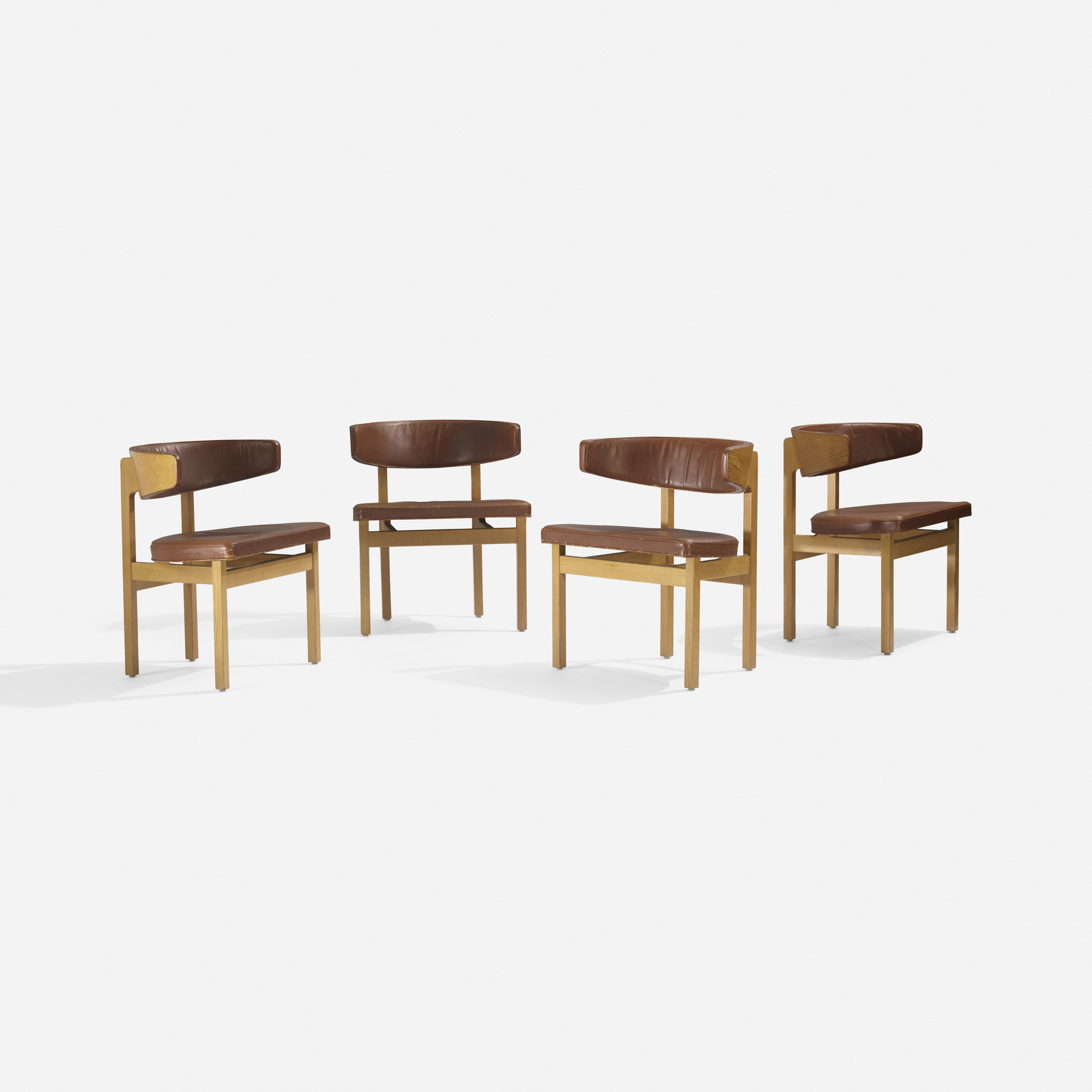 240: Børge Mogensen / Conference chairs, set of four (1 of 4)