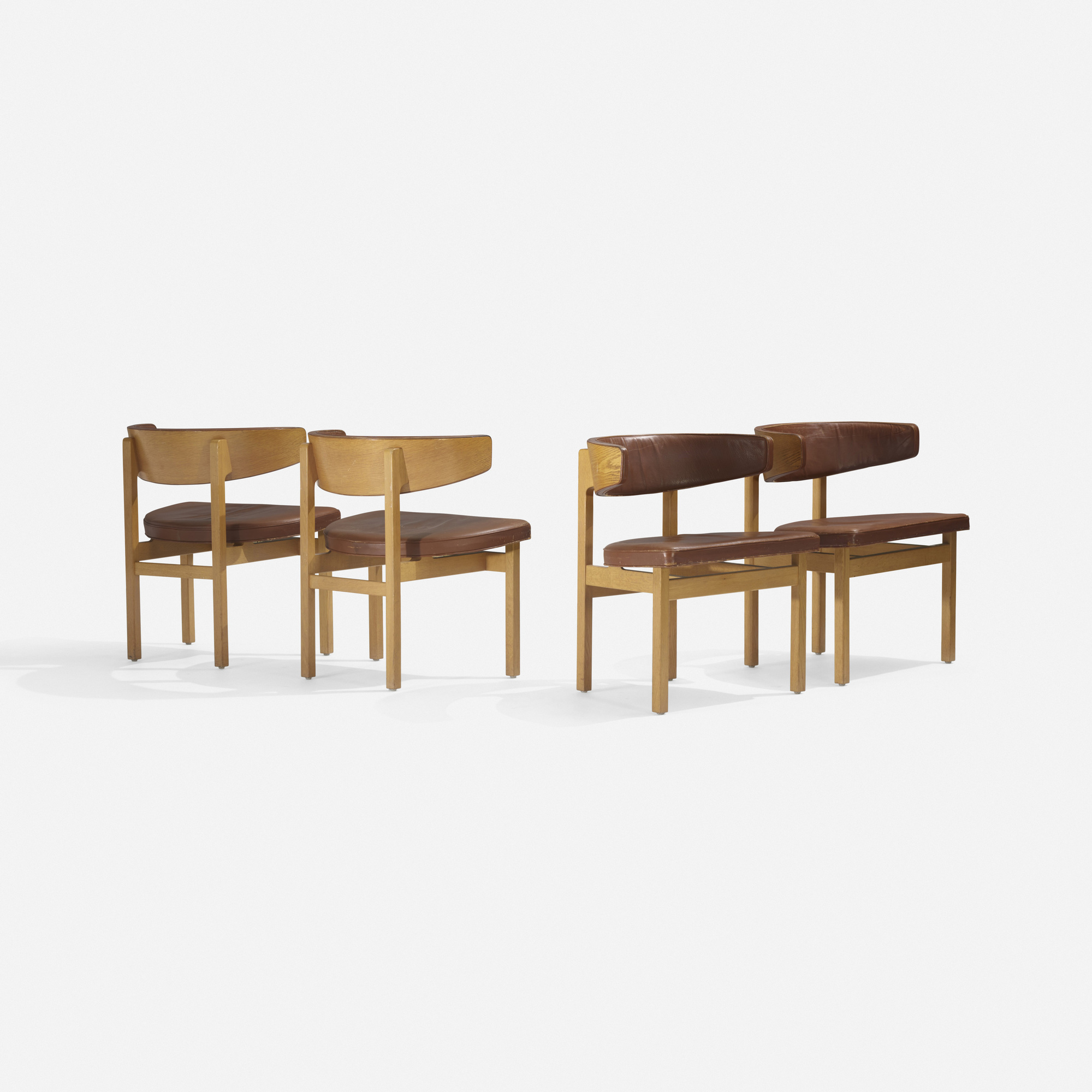 240: Børge Mogensen / Conference chairs, set of four (2 of 4)