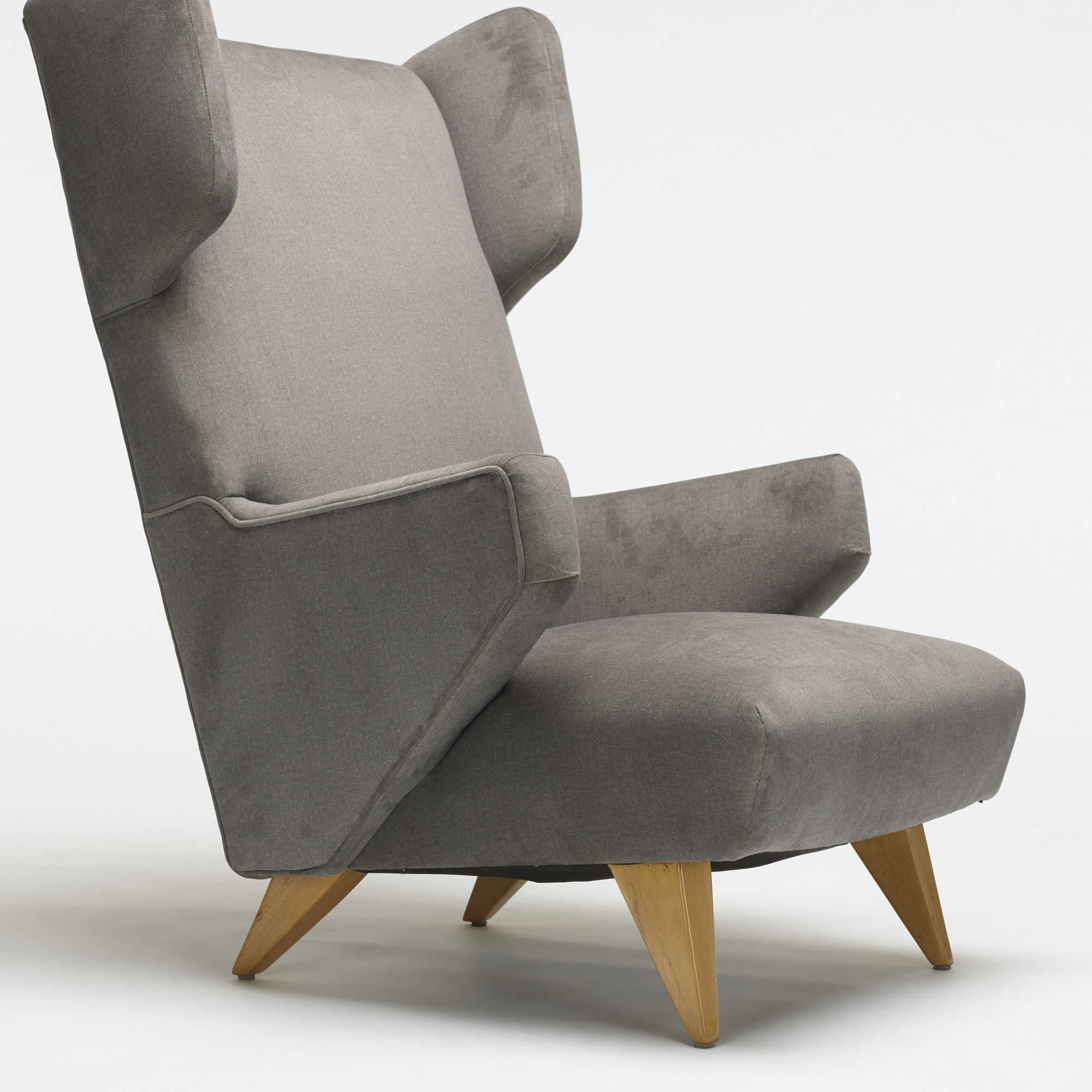 240 jens risom wingback lounge chair for Chair design 2000