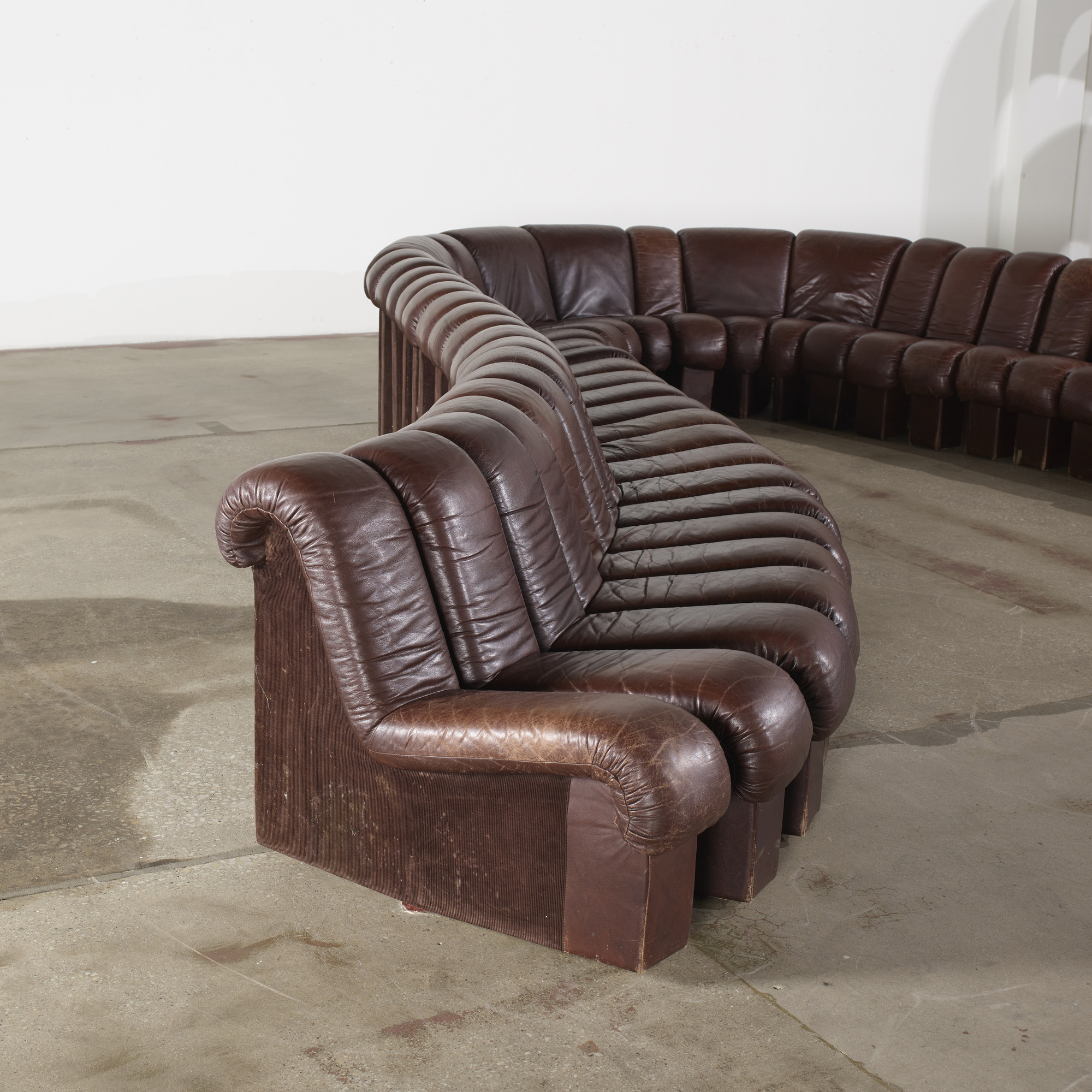 241: Ueli Berger, Eleanora Peduzzi Riva And Heinz Ulrich / Monumental DS  600 Organic Sofa (2 Of 2)