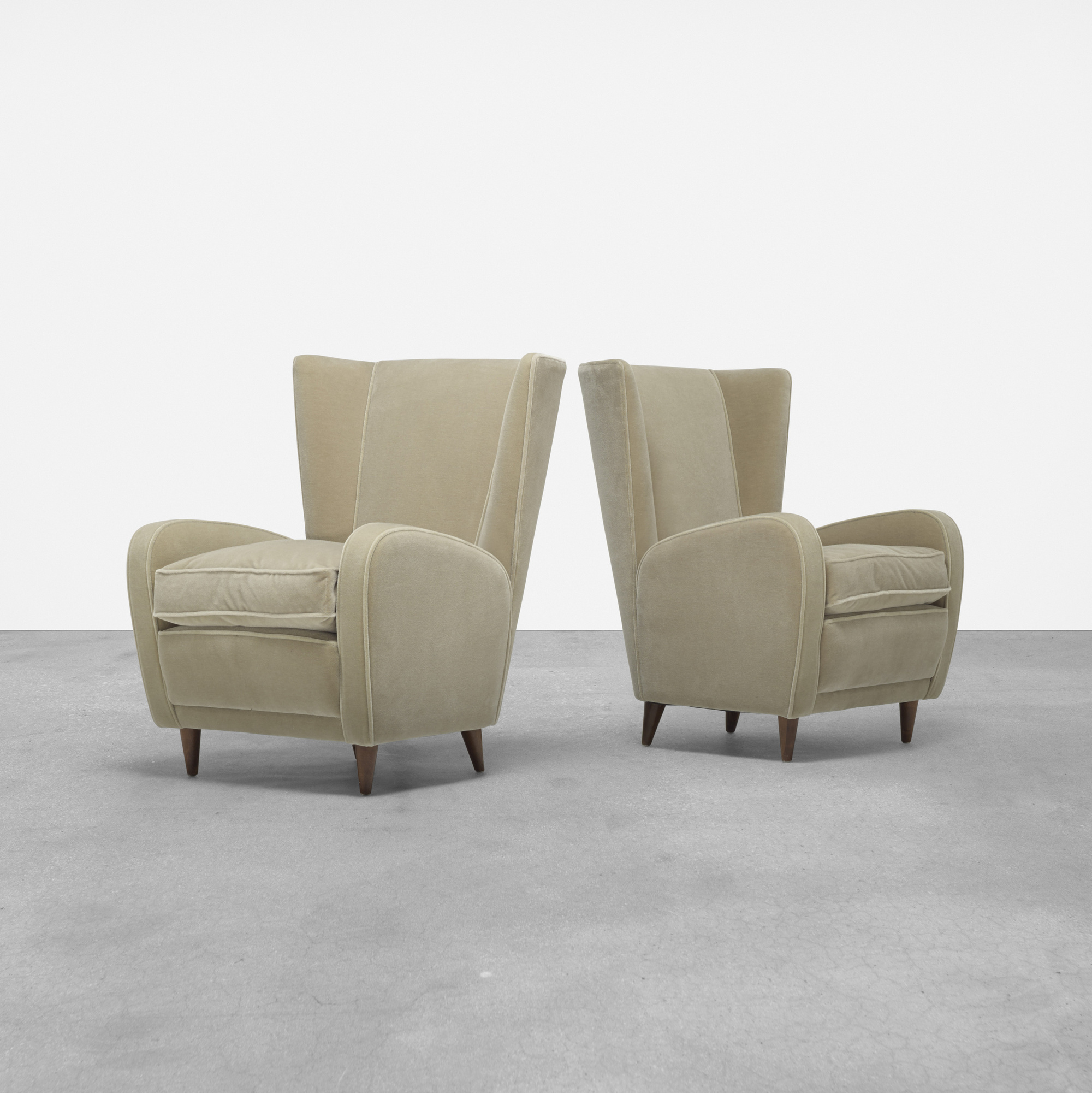 242: Paolo Buffa / pair of lounge chairs from Hotel Bristol, Merano (1 of 5)