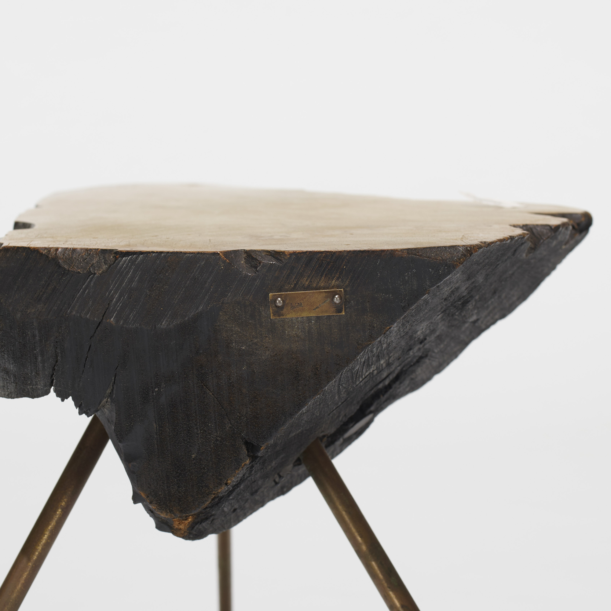 242: Carl Auböck II / occasional tables, set of three (4 of 4)