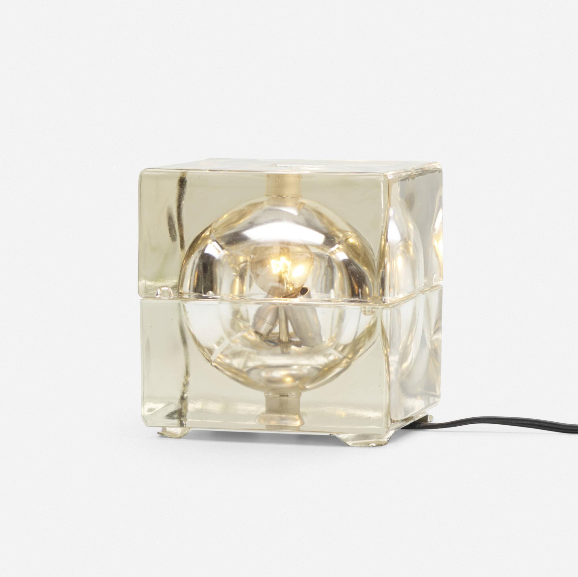 243: Alessandro Mendini / Cubosfera table lamp (1 of 2)