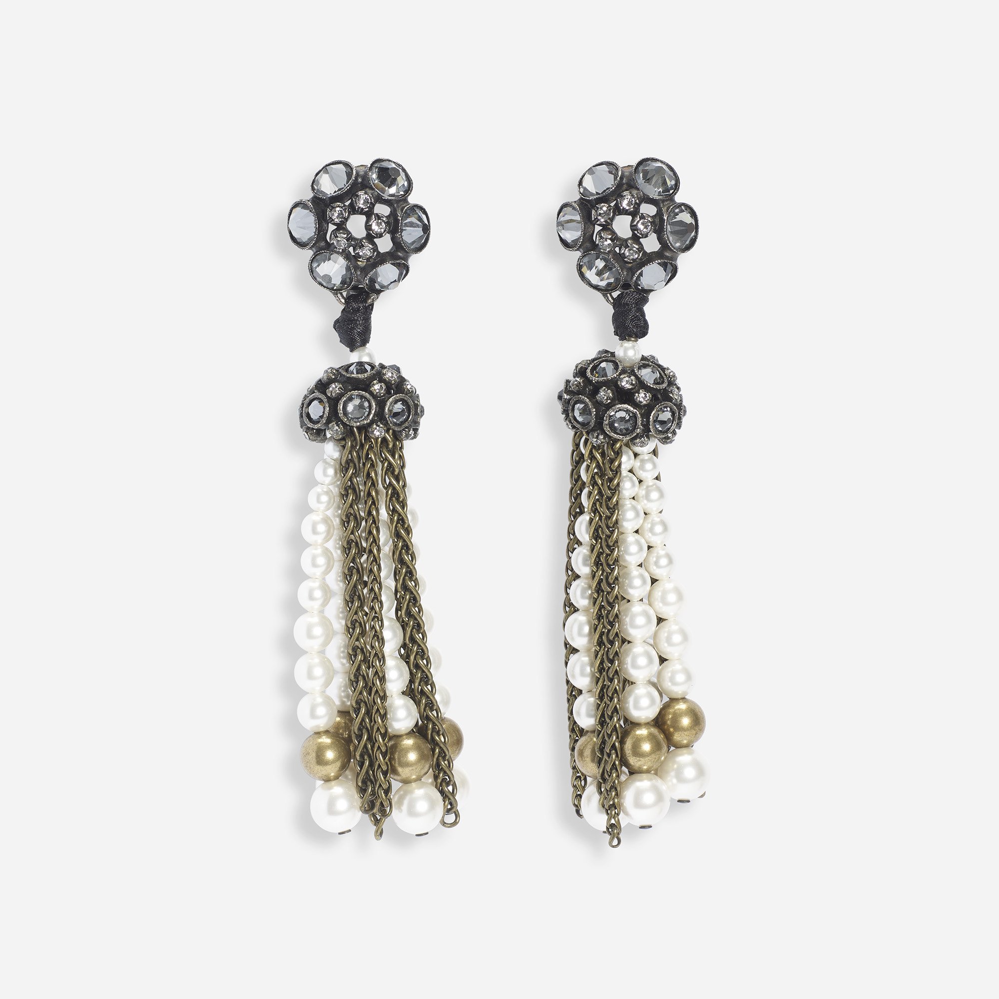 245 Alber Elbaz For Lanvin A Pair Of Earrings 1