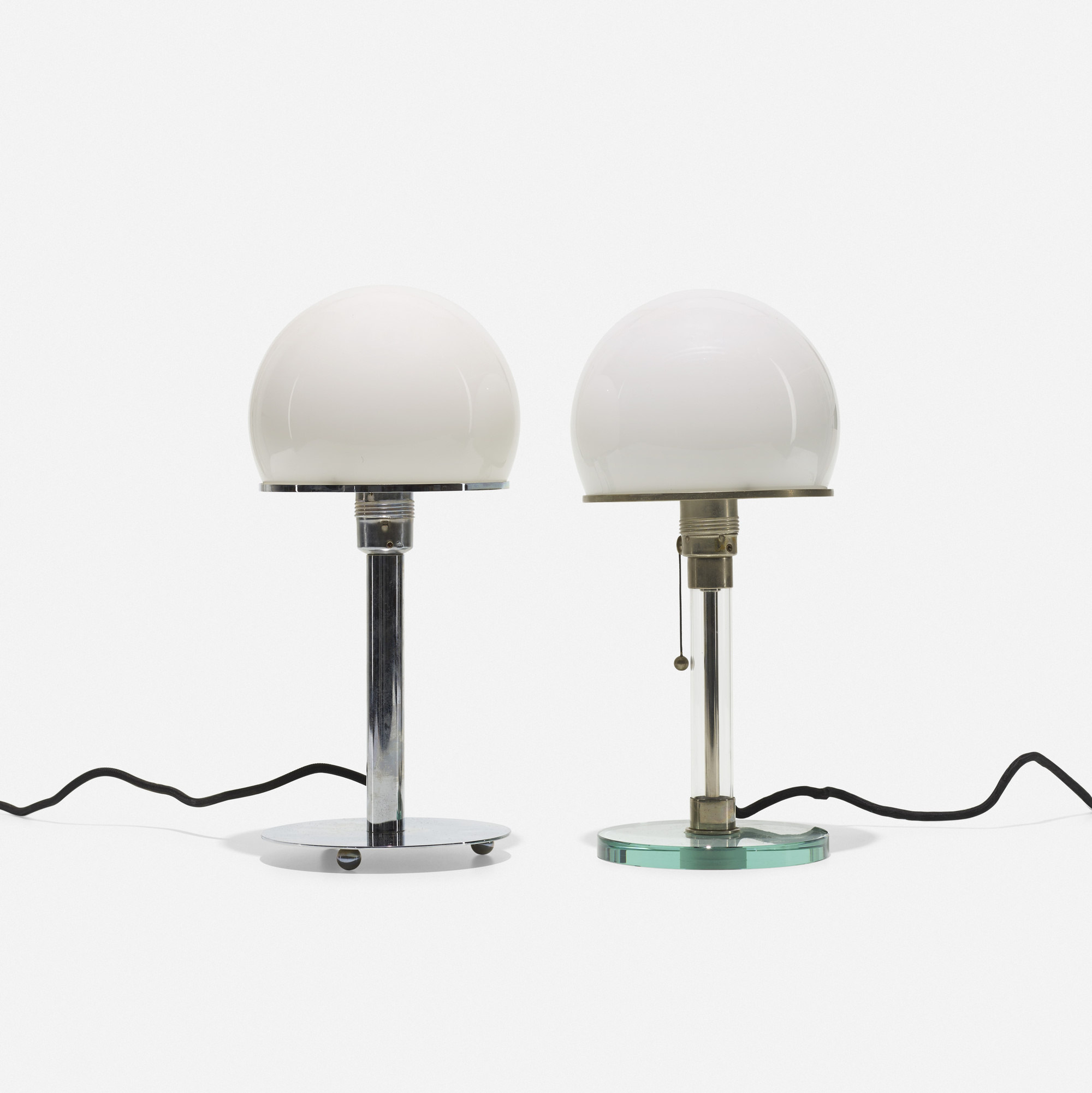 245: Wilhelm Wagenfeld / table lamps, set of two (1 of 1)