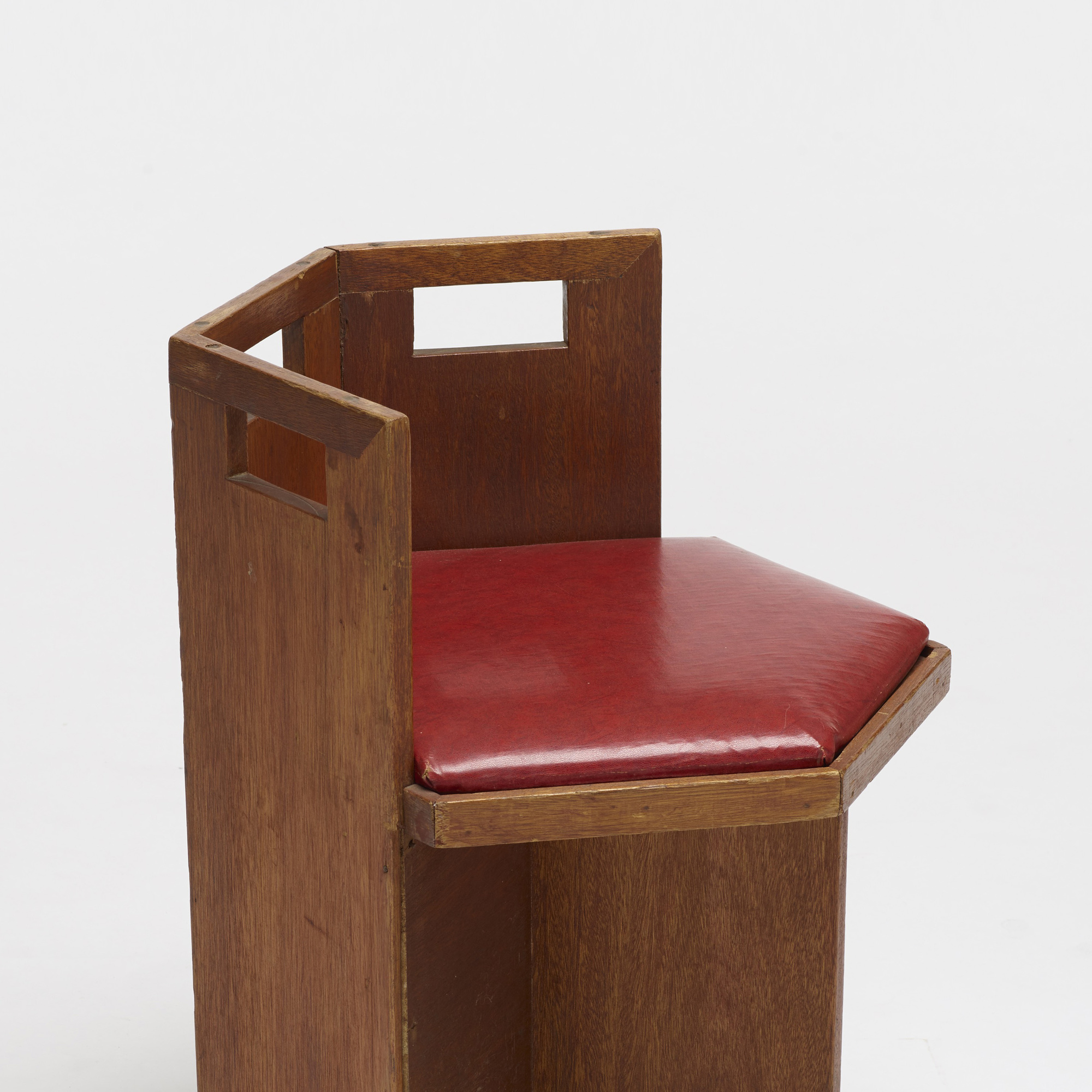 Delicieux ... 246: Usonian / Chairs, Pair (3 Of 3)