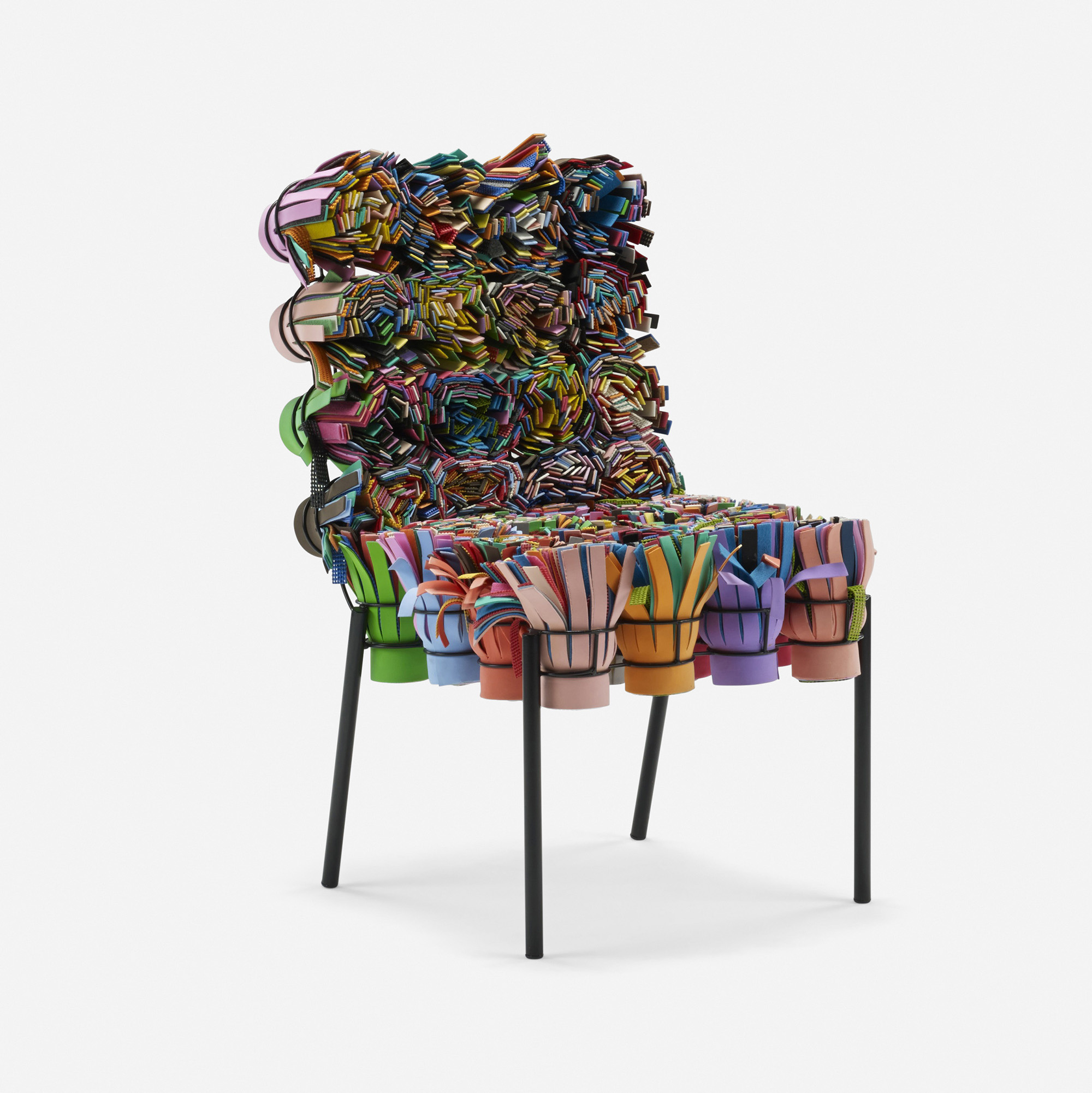 247 Fernando and Humberto Campana Sushi III chair Design 12