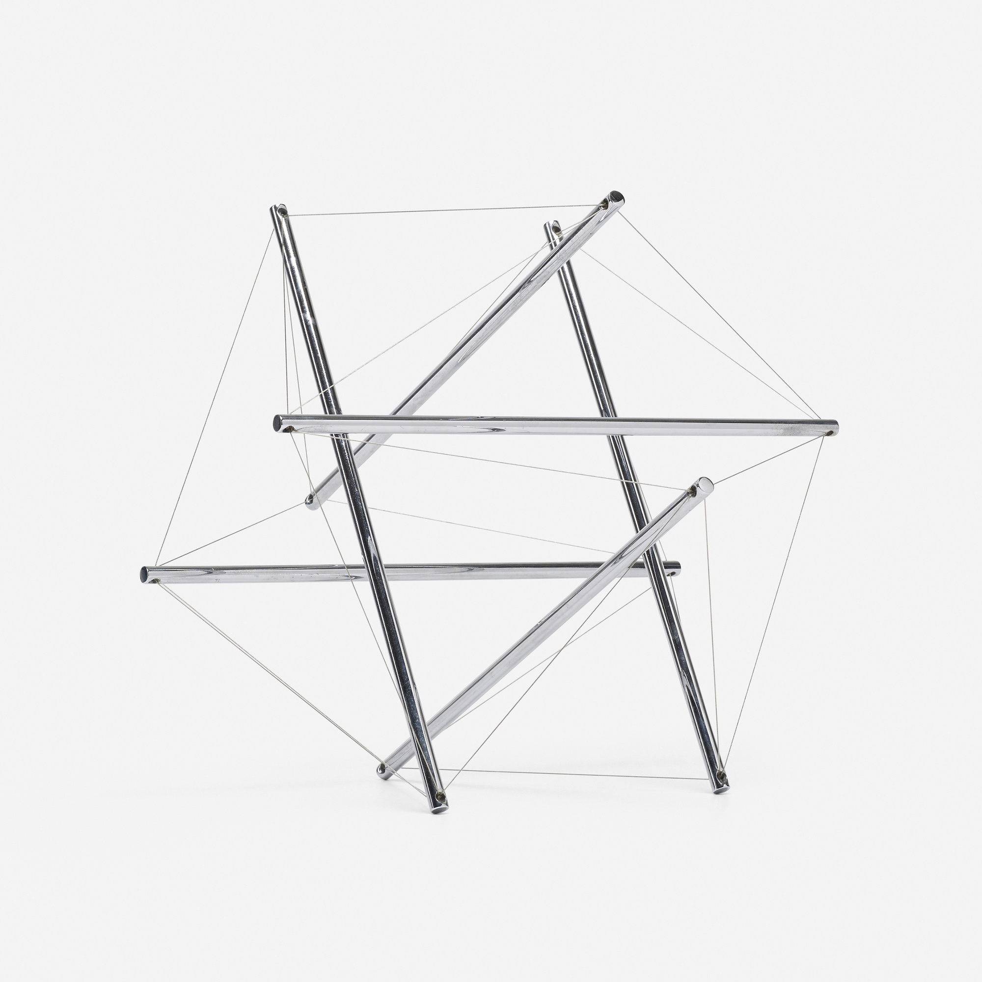 tensegrity furniture. 247: R. Buckminster Fuller / 6-Strut Tensegrity (2 Of 4) Furniture