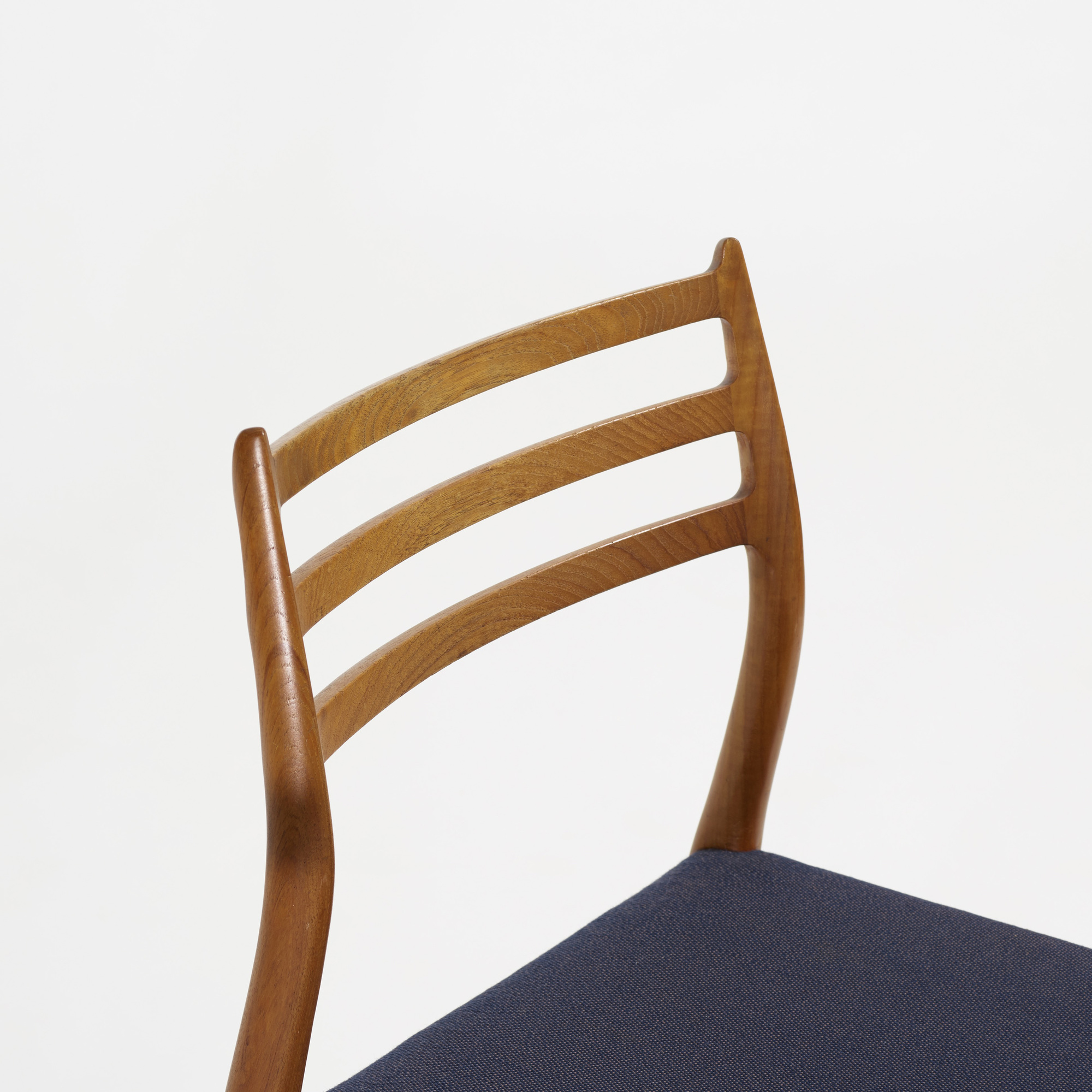 247: Niels O. Møller / dining chairs, set of eight (2 of 4)