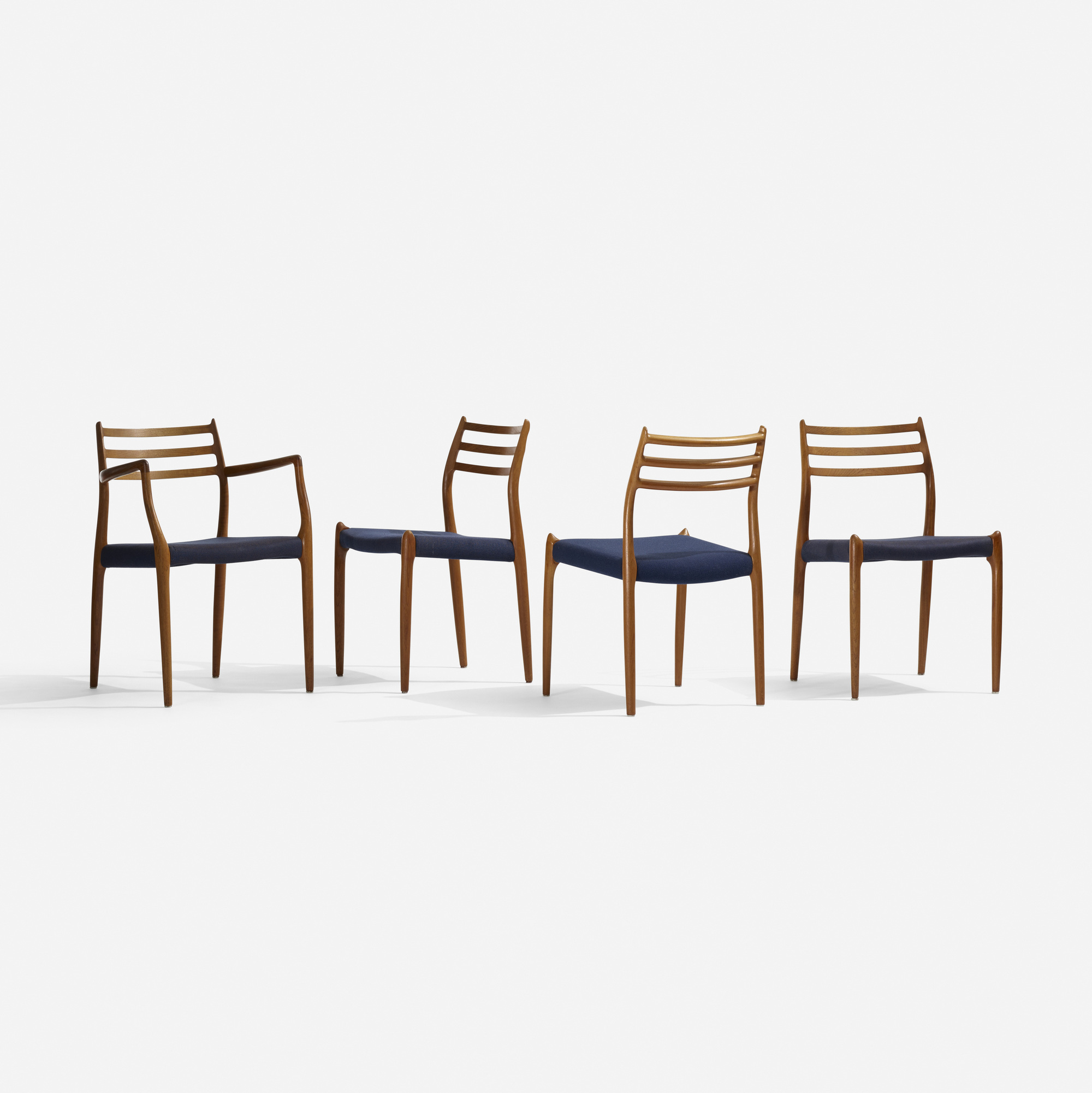 247: Niels O. Møller / dining chairs, set of eight (4 of 4)