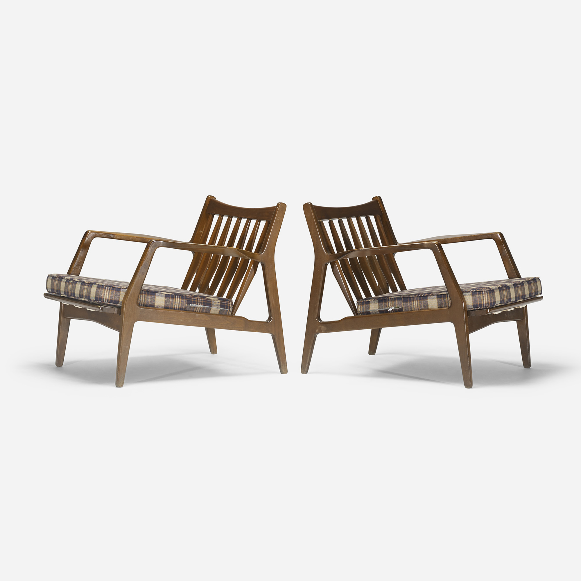 248: Dux / lounge chairs, pair (1 of 4)