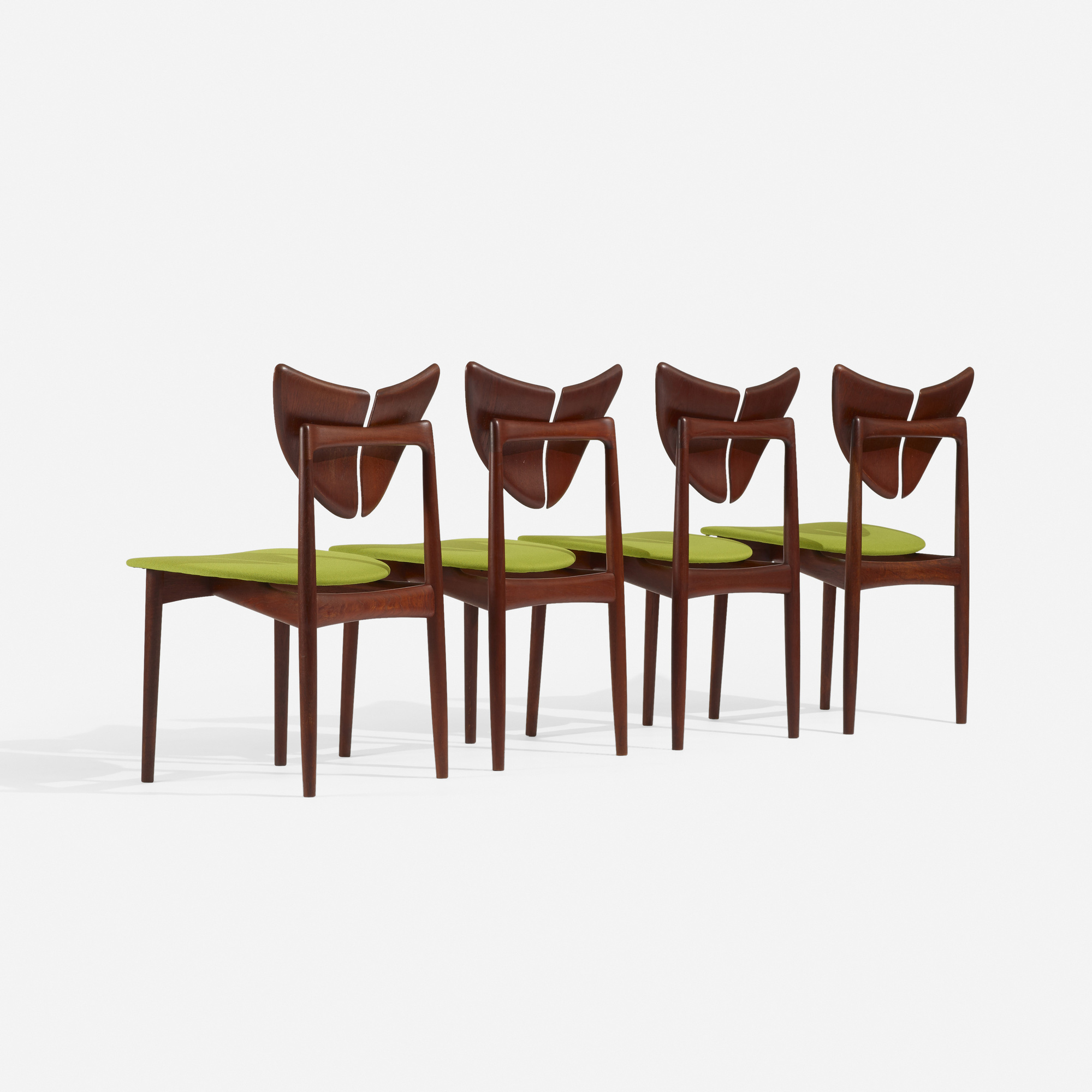 248: Kurt Østervig / dining chairs, set of four (1 of 4)