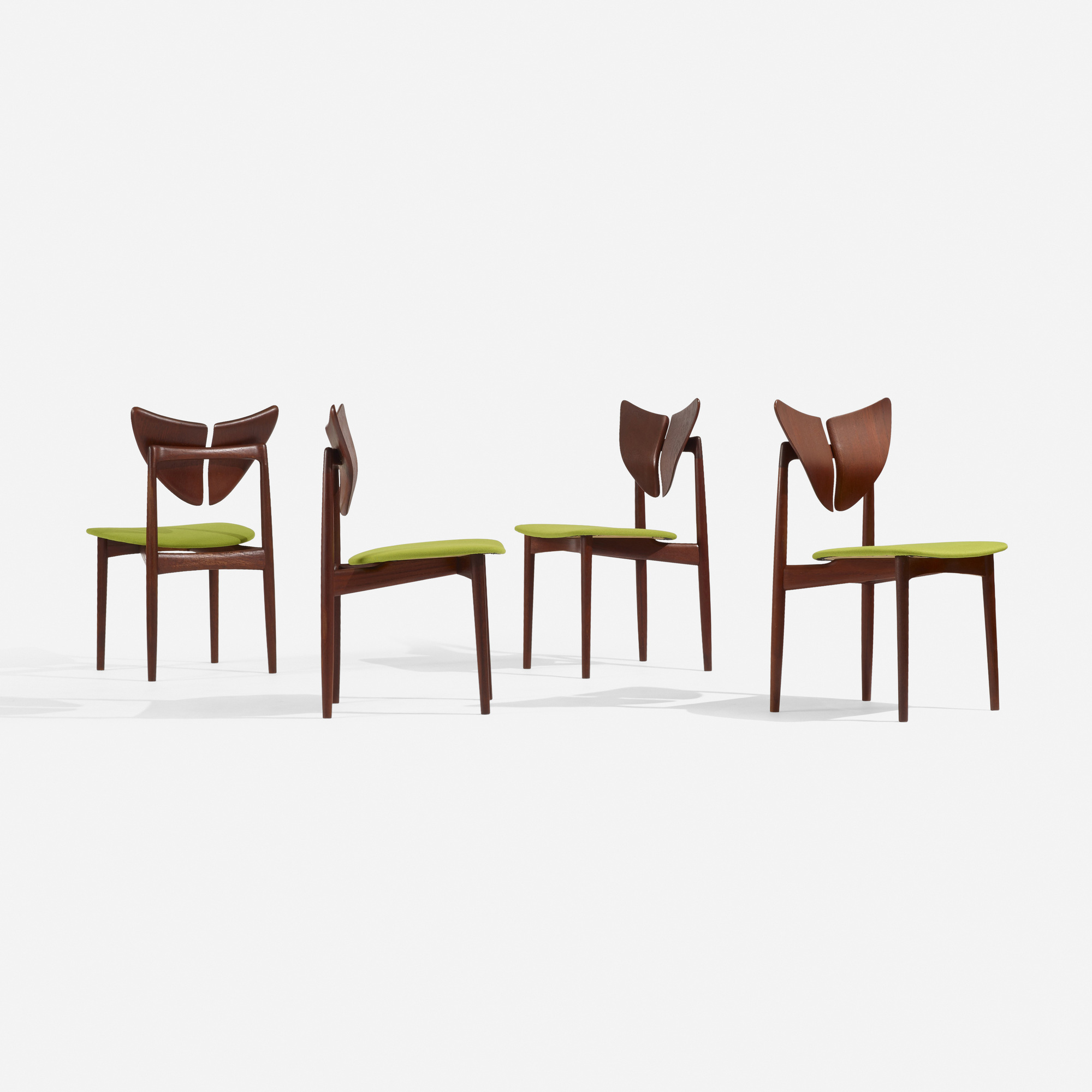 248: Kurt Østervig / dining chairs, set of four (2 of 4)