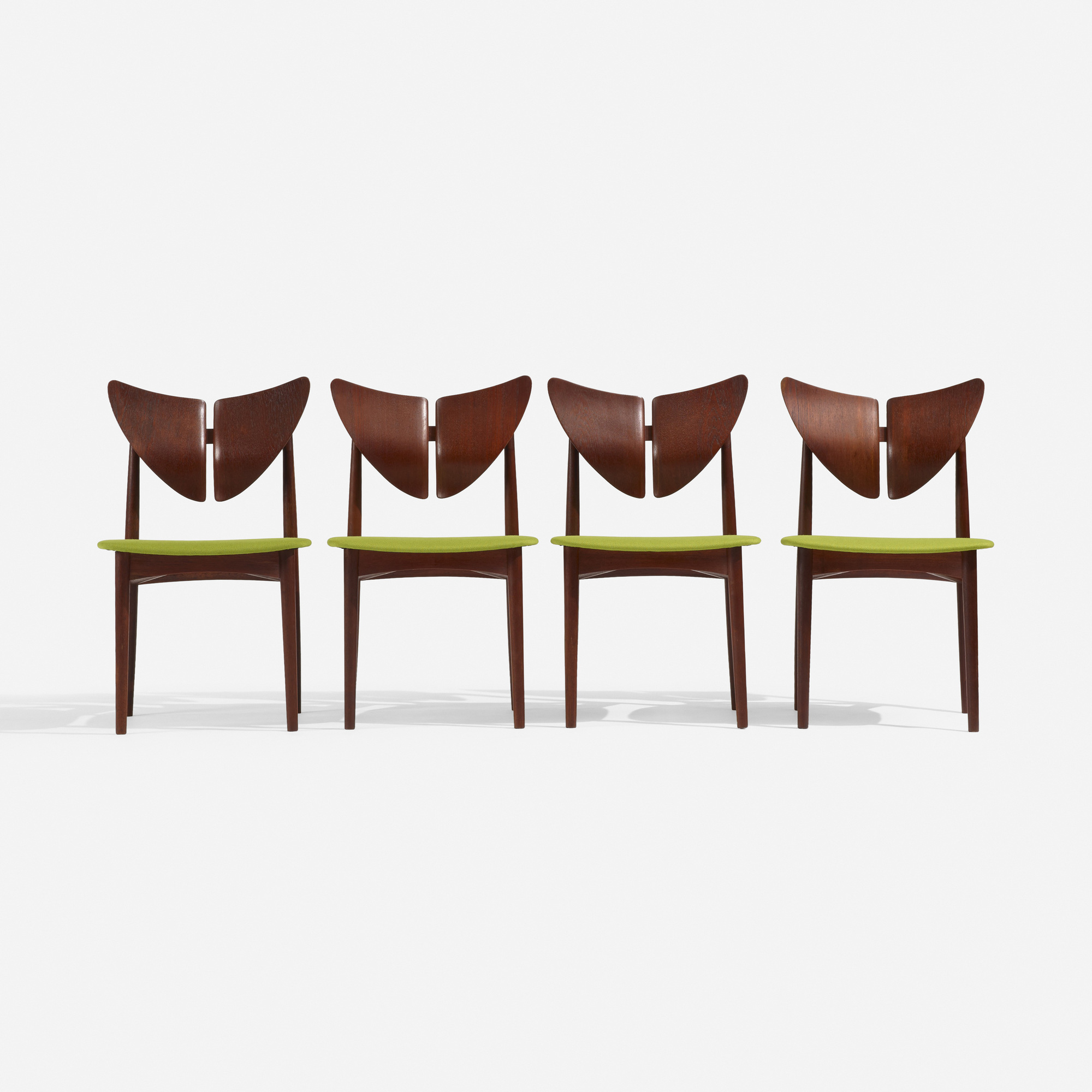 248: Kurt Østervig / dining chairs, set of four (3 of 4)