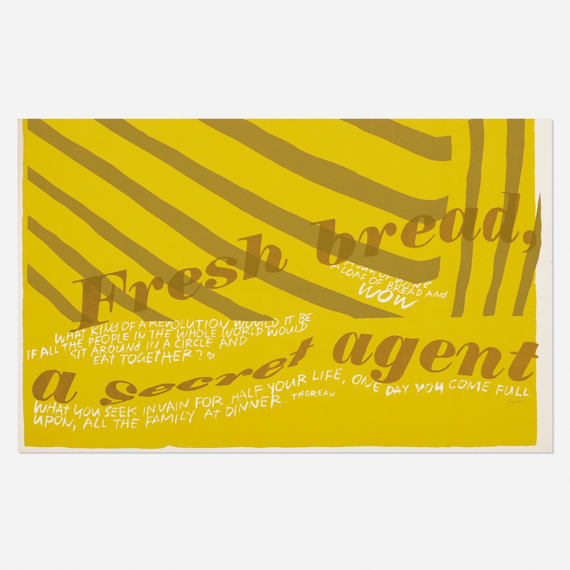 249: CORITA KENT (SISTER MARY CORITA), fresh bread < Art +