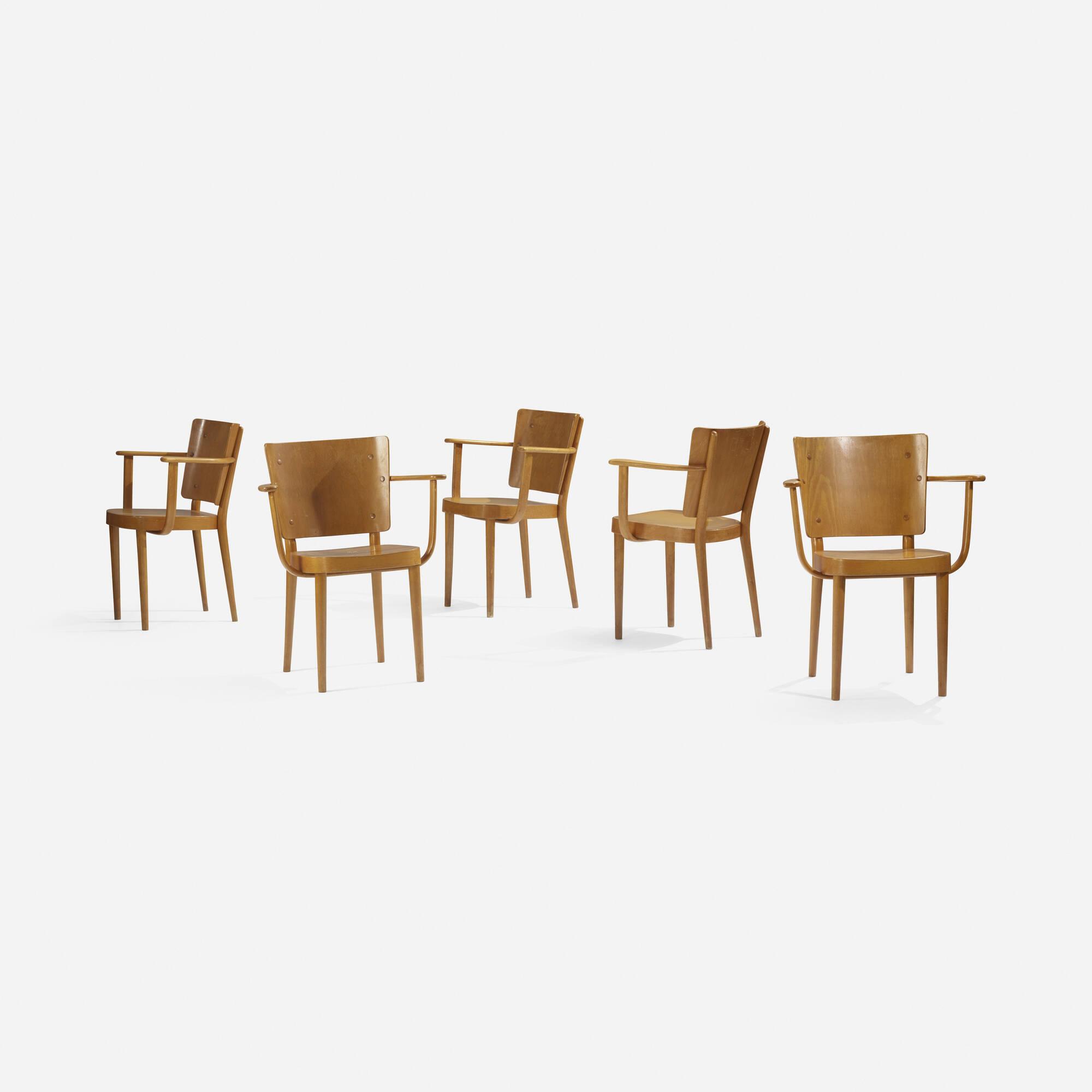249: Søren Hansen / armchairs, set of five (2 of 3)