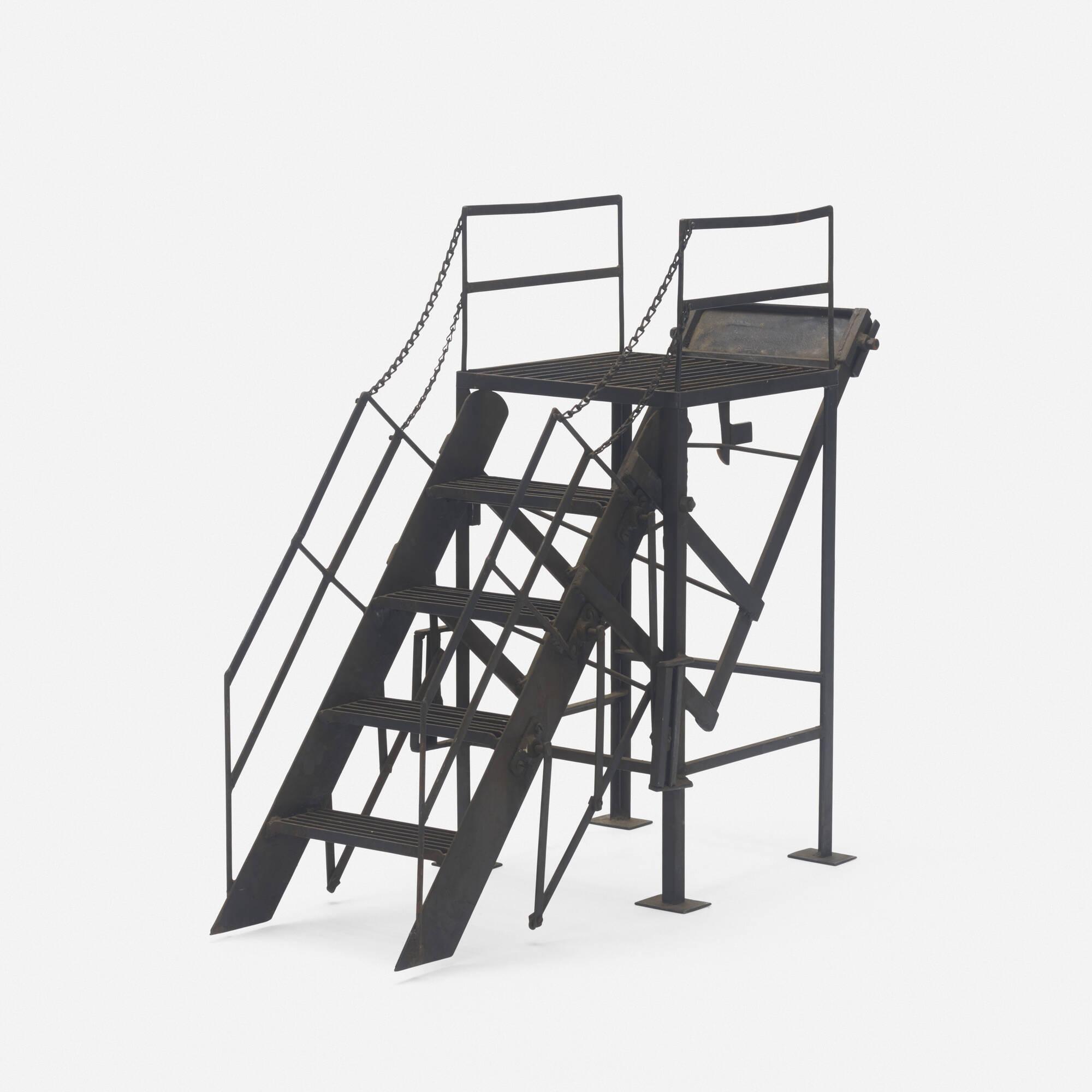 250: American / salesman's sample fire escape (1 of 2)