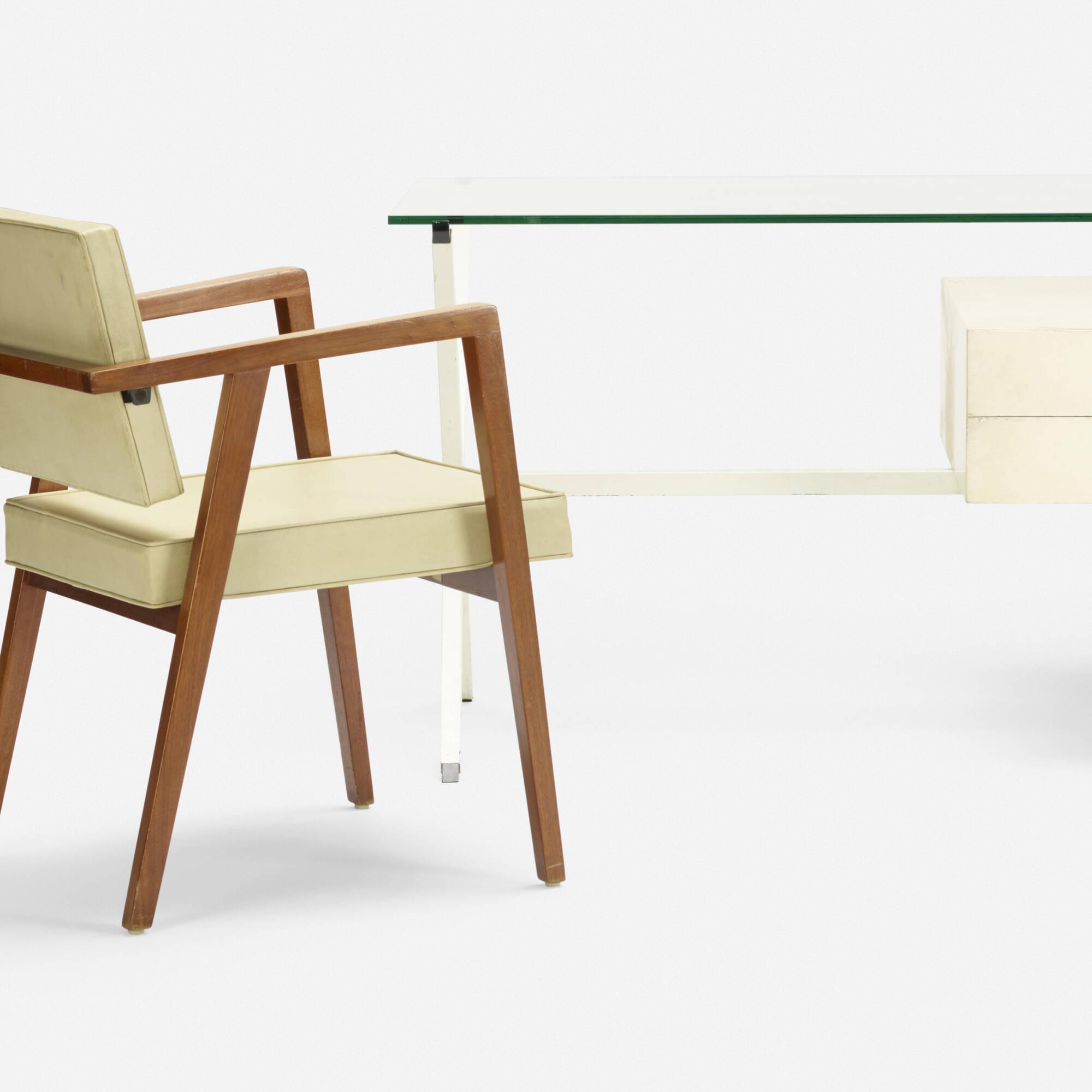 250: Franco Albini / desk, model 80 and armchair, model 48 (2 of 2)