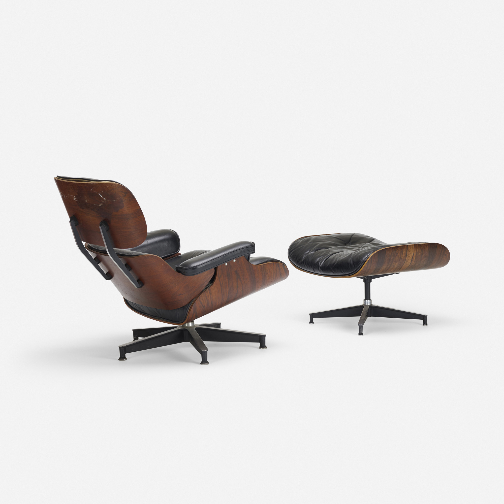 251: Charles and Ray Eames / 670 lounge chair and 671 ottoman (1 of 2)