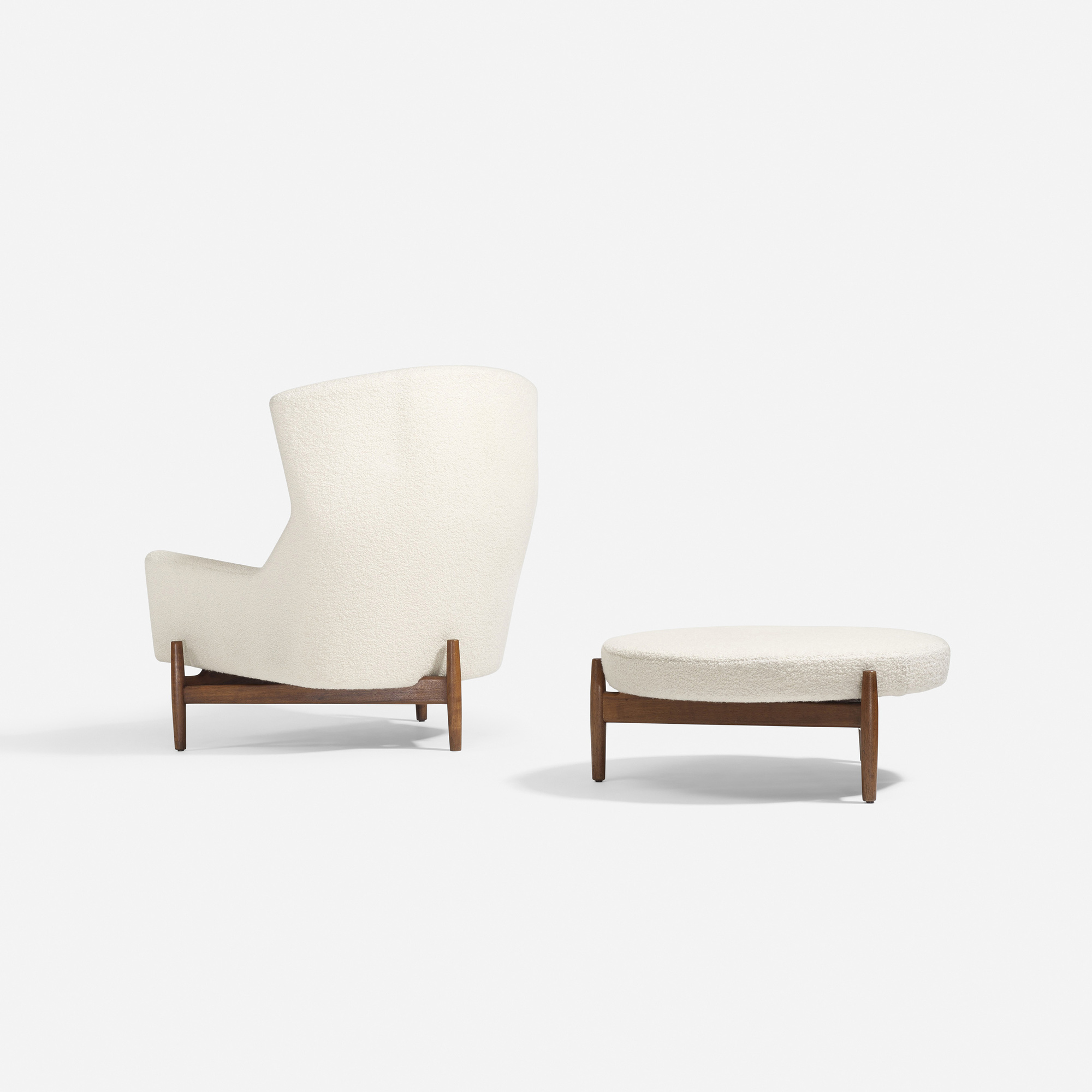... 251: Jens Risom / Lounge Chair And Ottoman (2 Of 4)